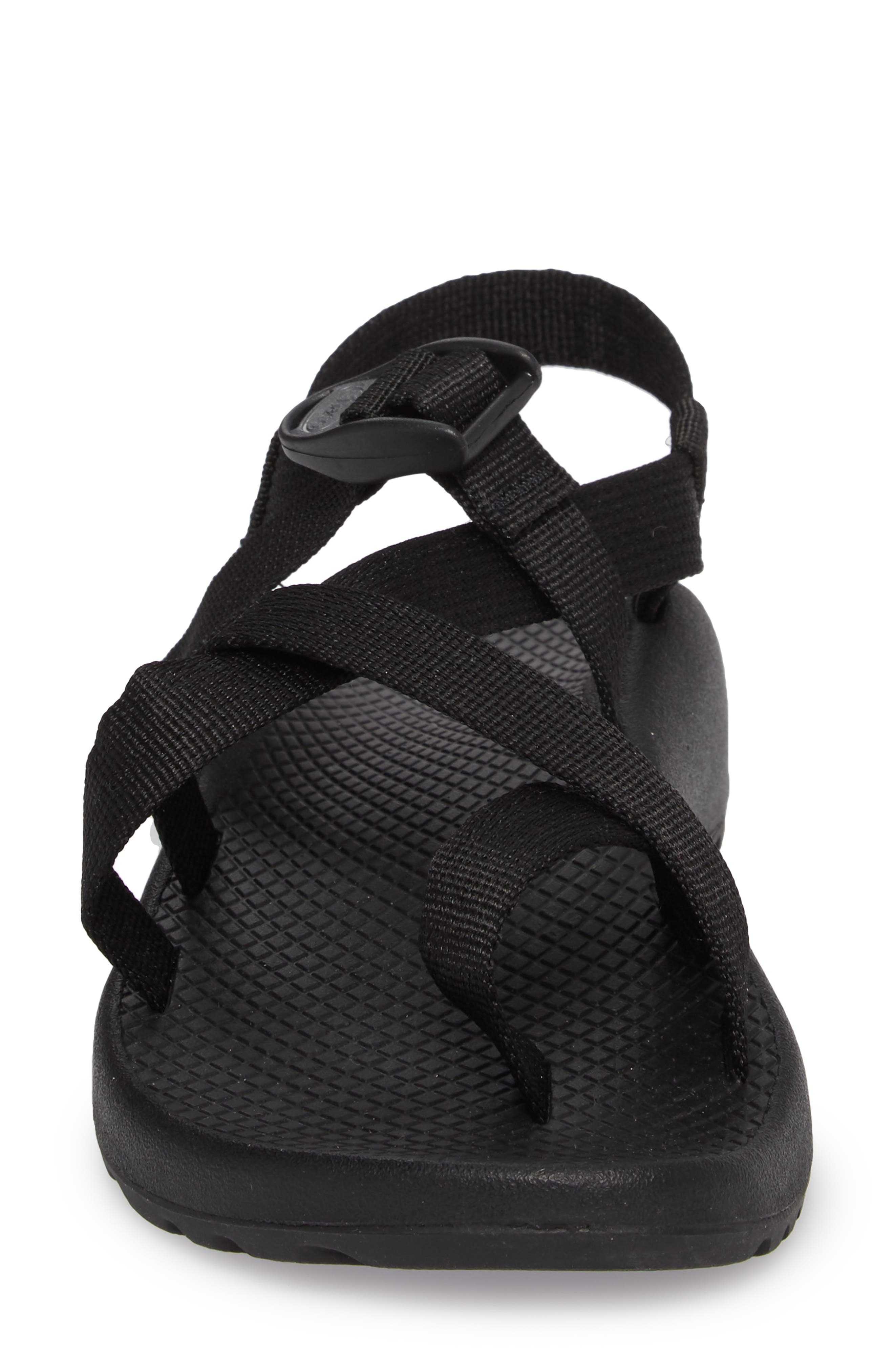 Z/2 Classic Sport Sandal,                             Alternate thumbnail 4, color,                             Black