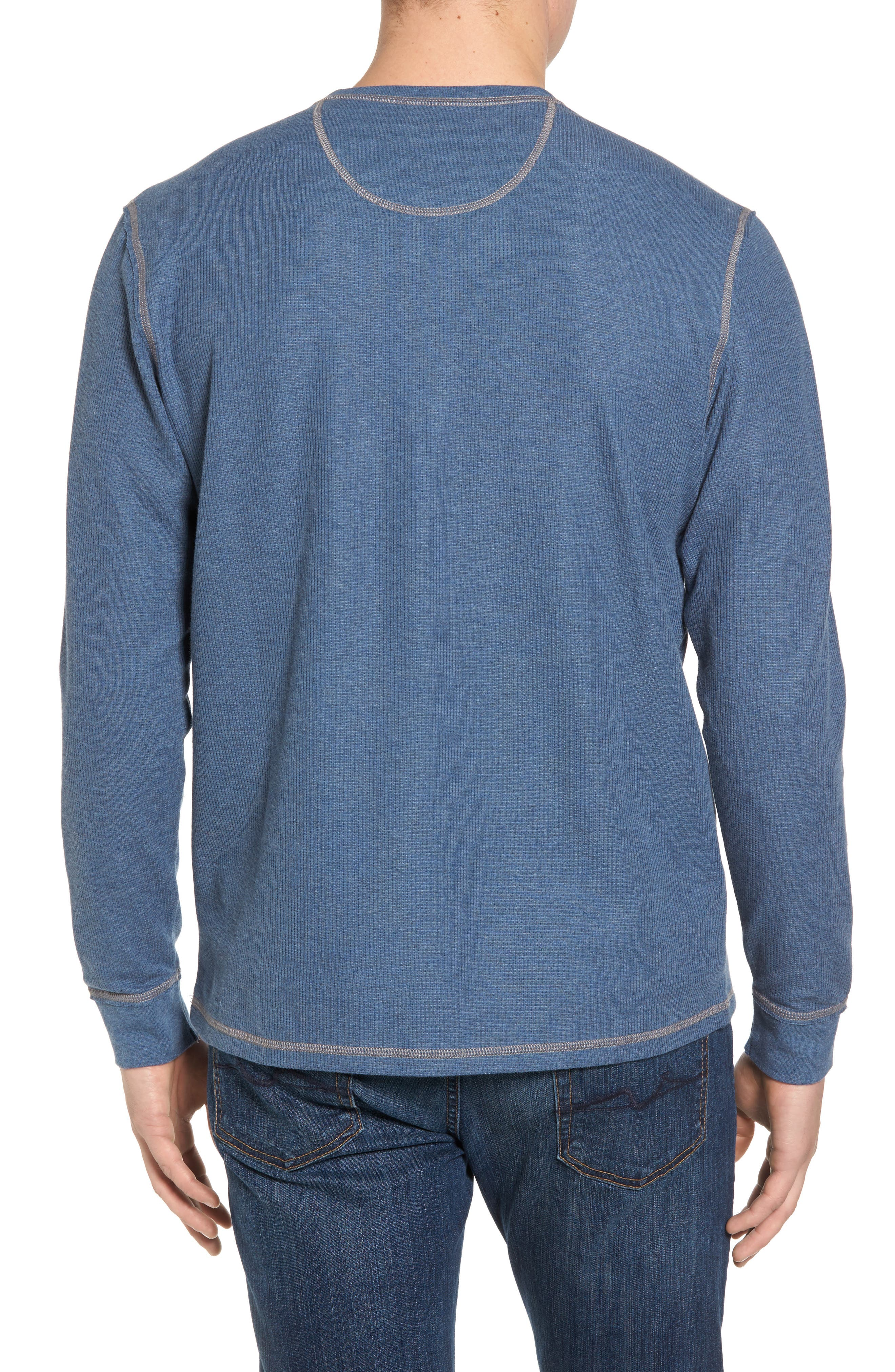 Alternate Image 2  - Tommy Bahama Island Thermal Standard Fit Thermal Henley
