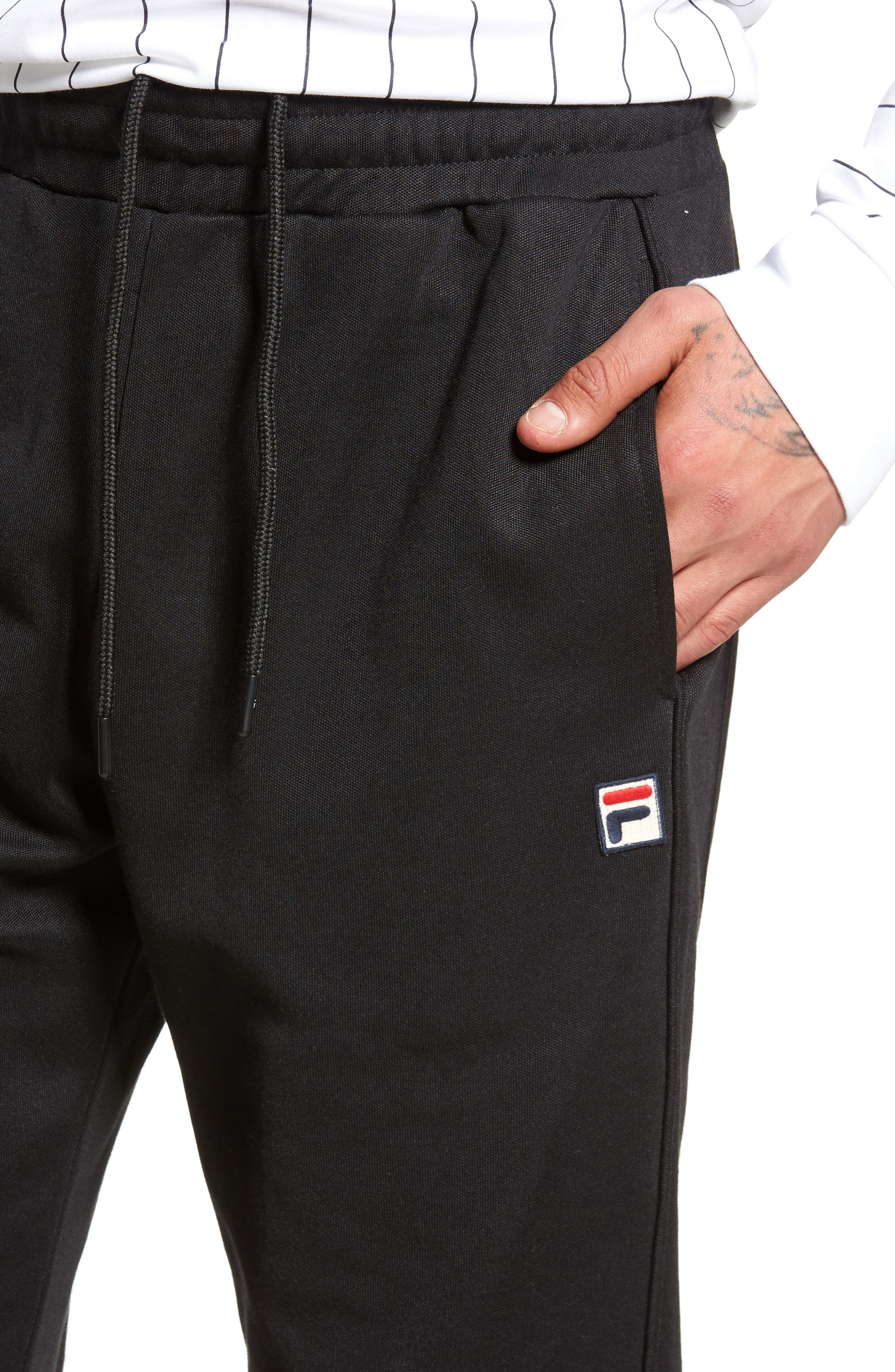 Bianchi Pants,                             Alternate thumbnail 4, color,                             Black