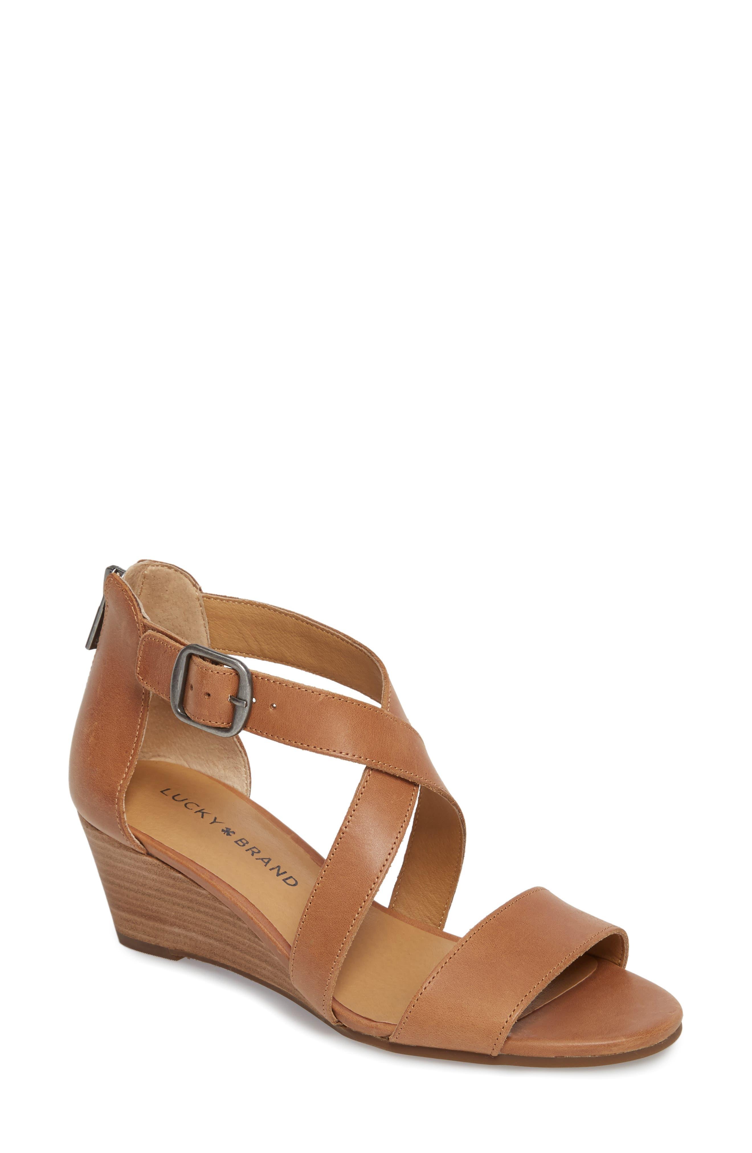 Lucky Brand Women's Jestah Wedge Sandal Ny4SrIK1r