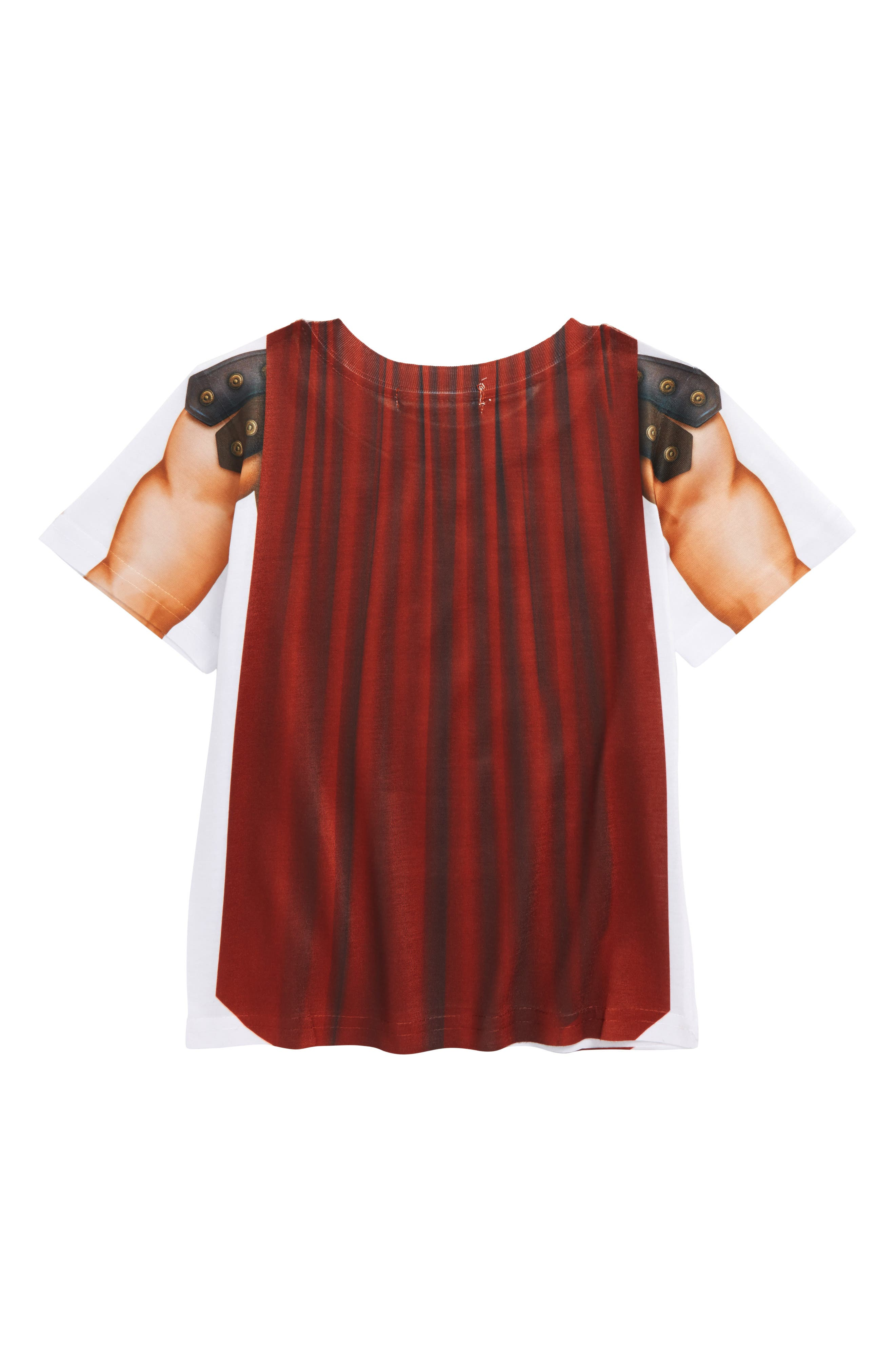 Gladiator Screenprint T-Shirt,                             Alternate thumbnail 3, color,                             Grey