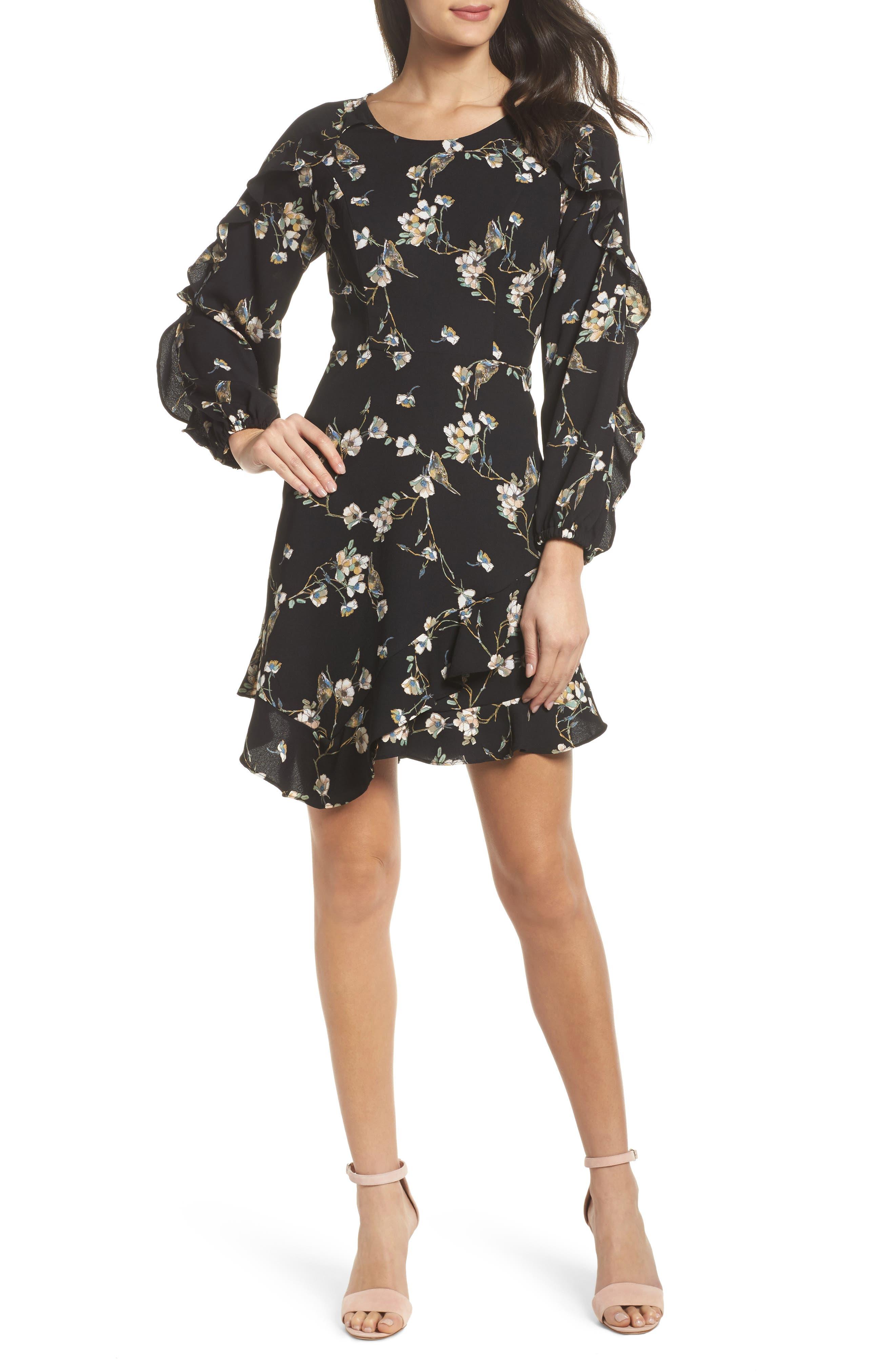 Alternate Image 1 Selected - 19 Cooper Ruffle Hem Dress
