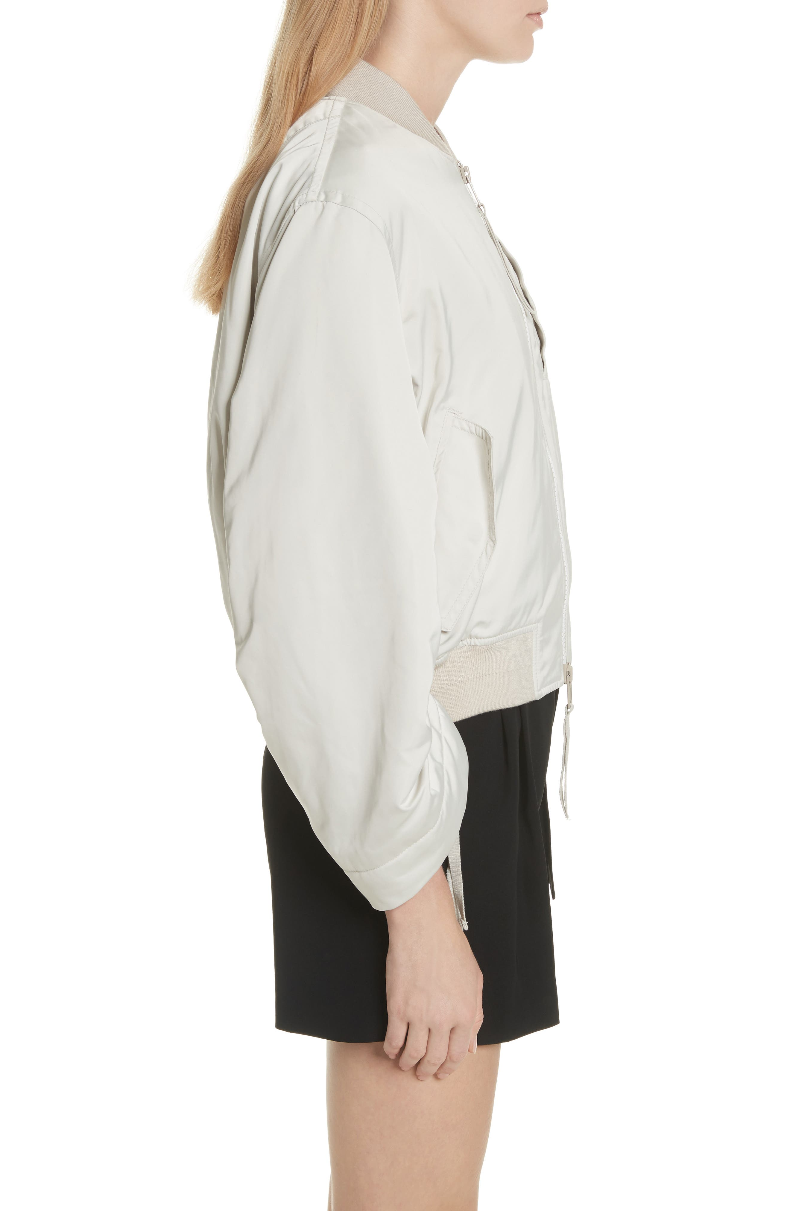 Parachute Bomber Jacket,                             Alternate thumbnail 3, color,                             Chalet