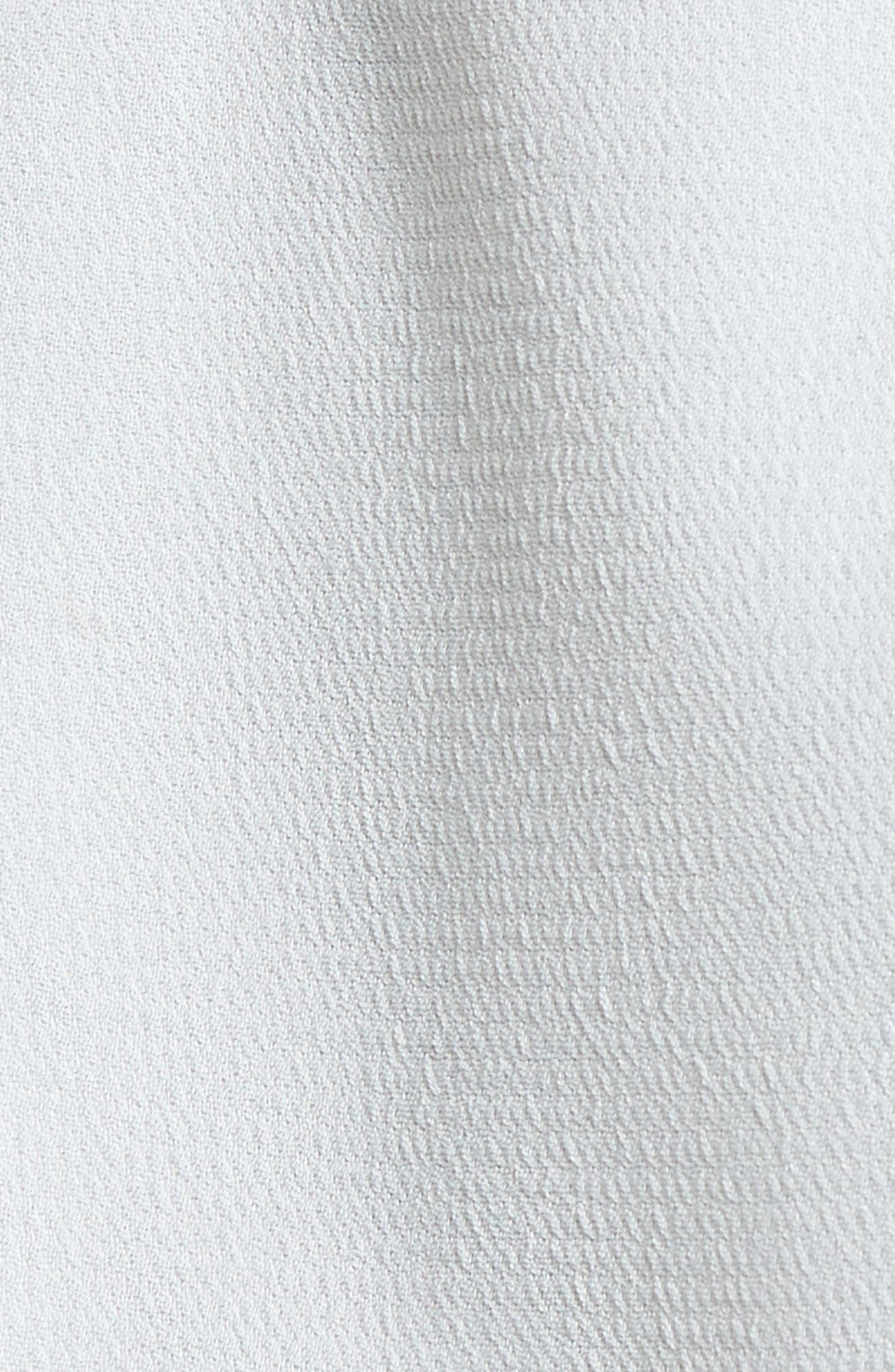 Paperbag Shorts,                             Alternate thumbnail 5, color,                             Blue Pearl
