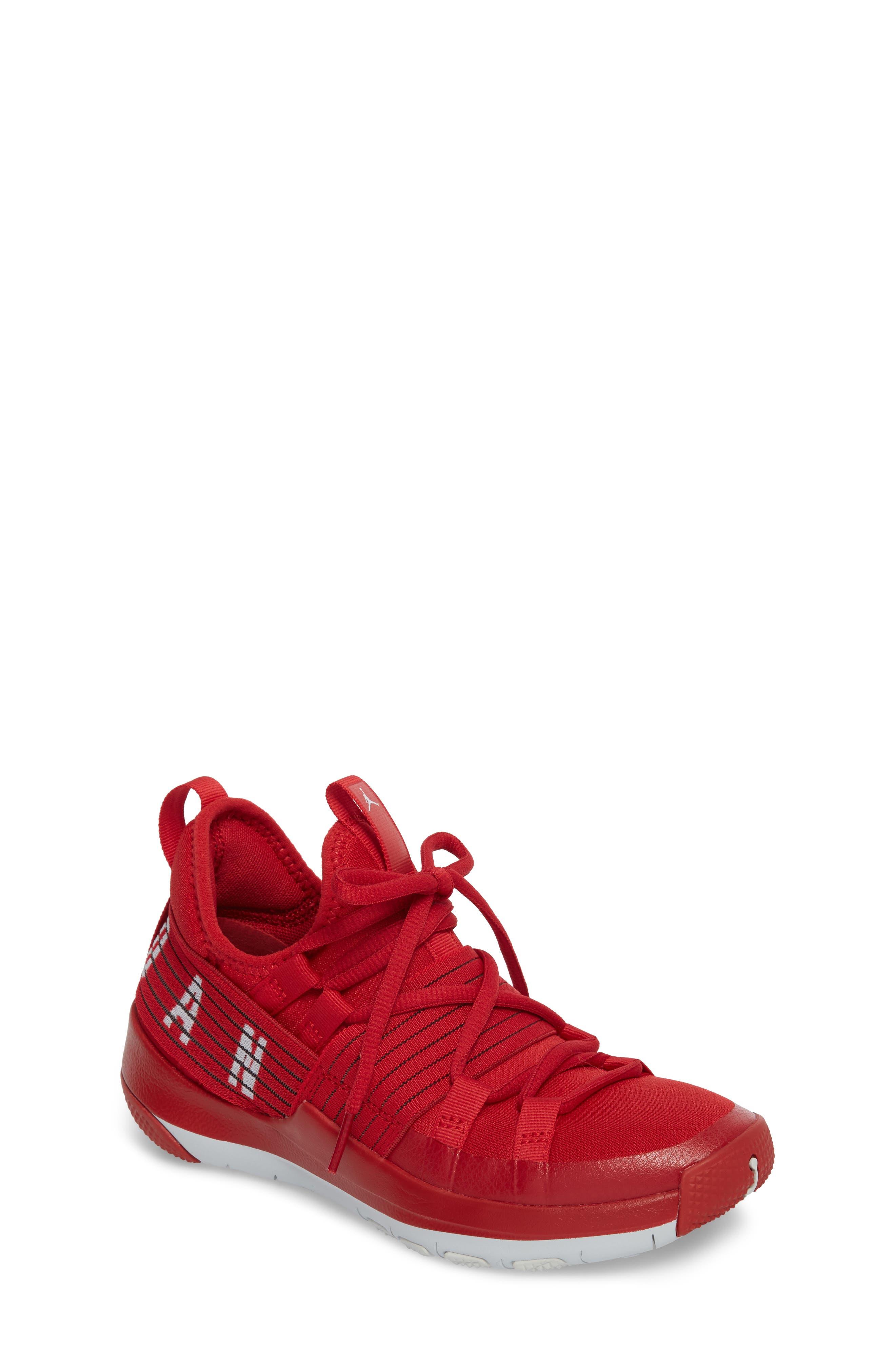Trainer Pro Training Shoe,                             Main thumbnail 1, color,                             Gym Red/ Pure Platinum