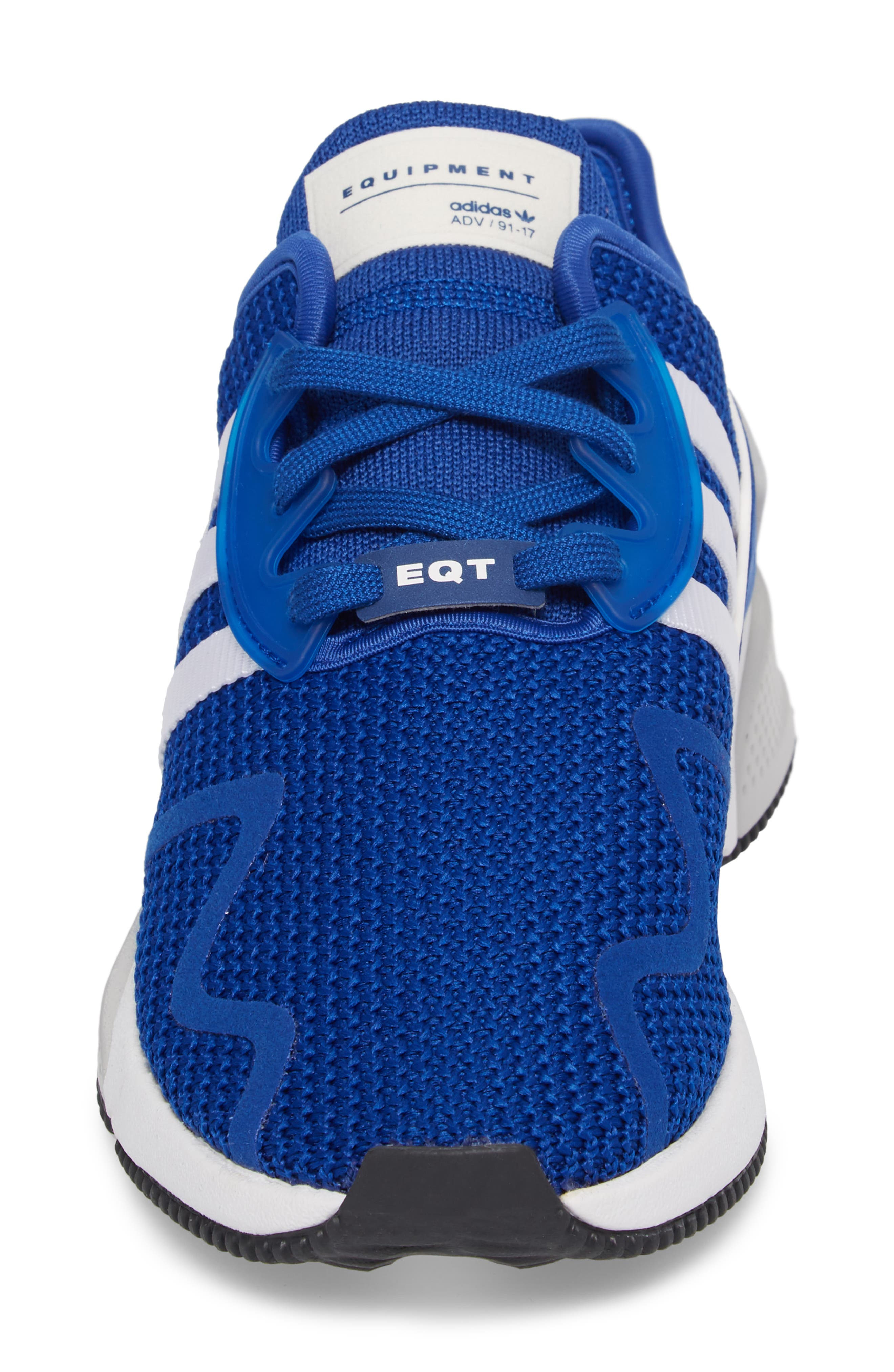 EQT Cushion ADV Sneaker,                             Alternate thumbnail 4, color,                             Royal/ Crystal White