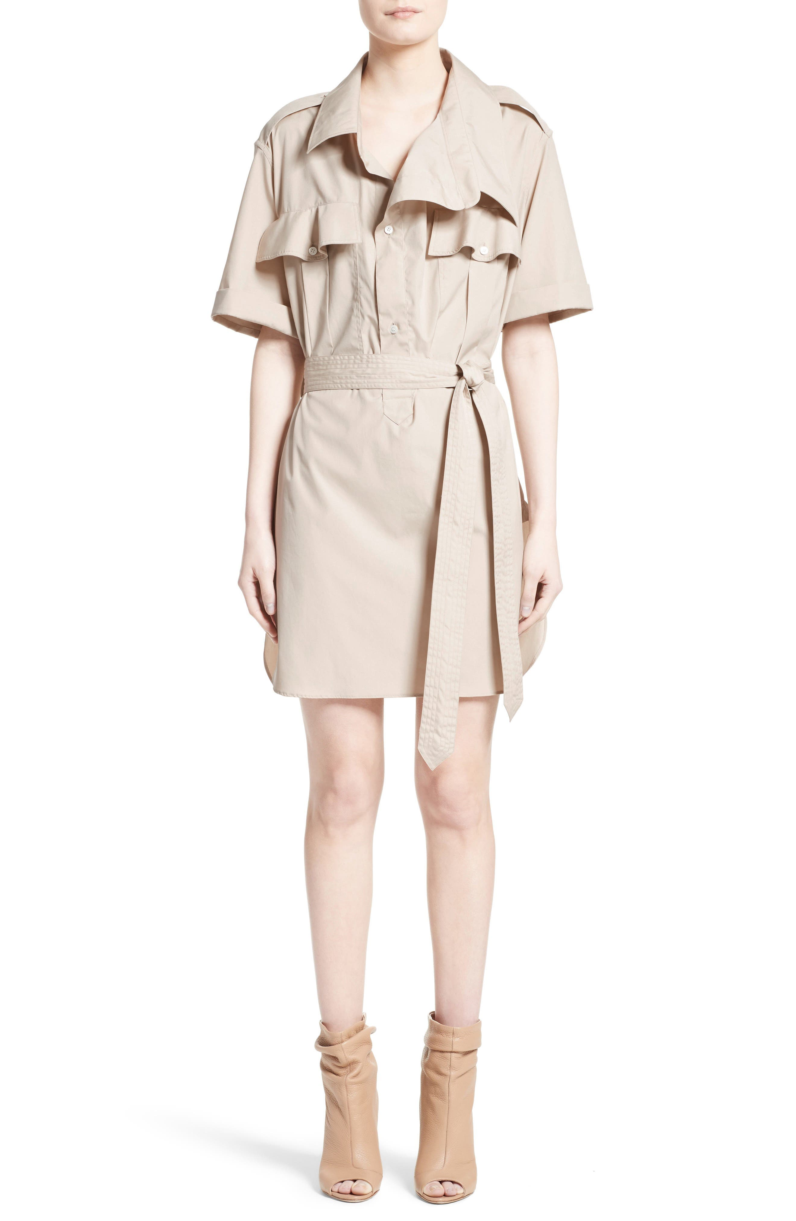 Aerona Shirtdress,                         Main,                         color, Stone