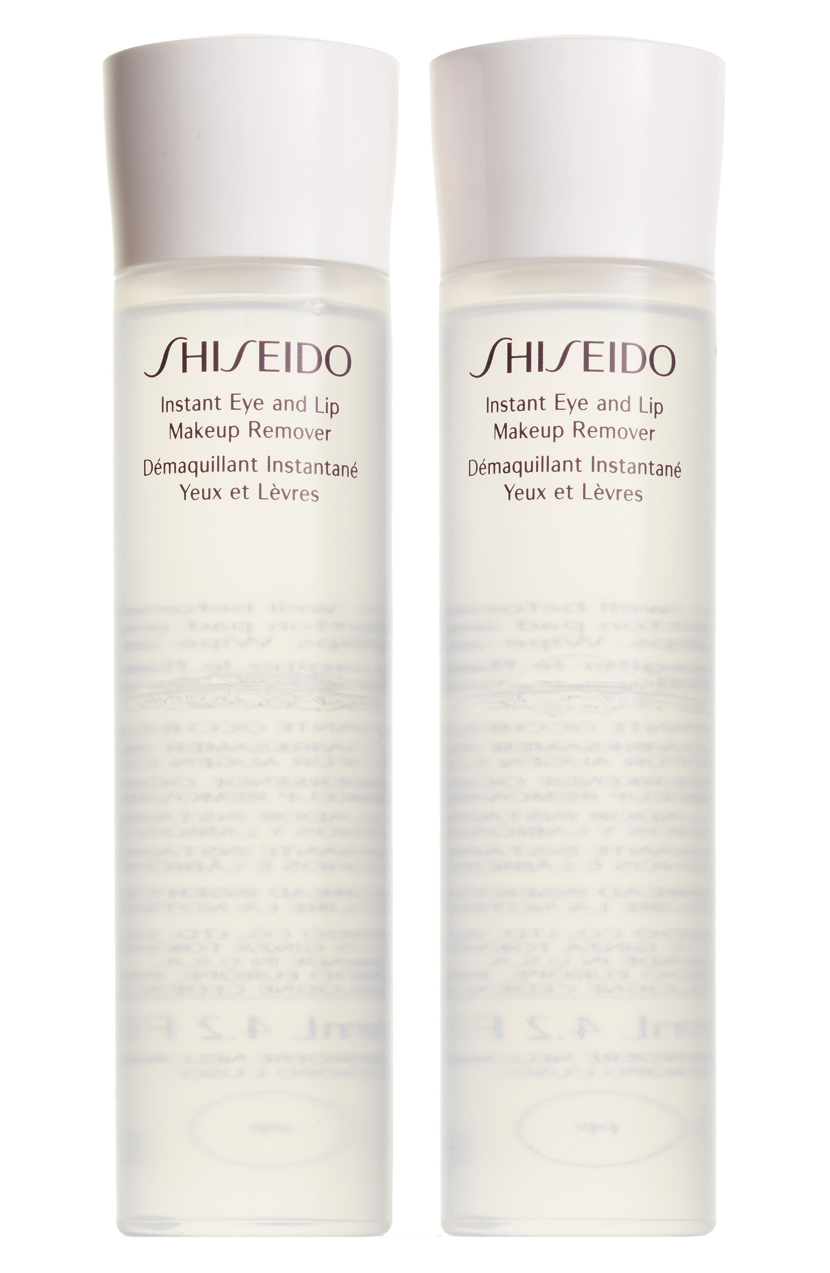 Main Image - Shiseido Essentials Instant Eye & Lip Makeup Remover Duo ($54 Value)