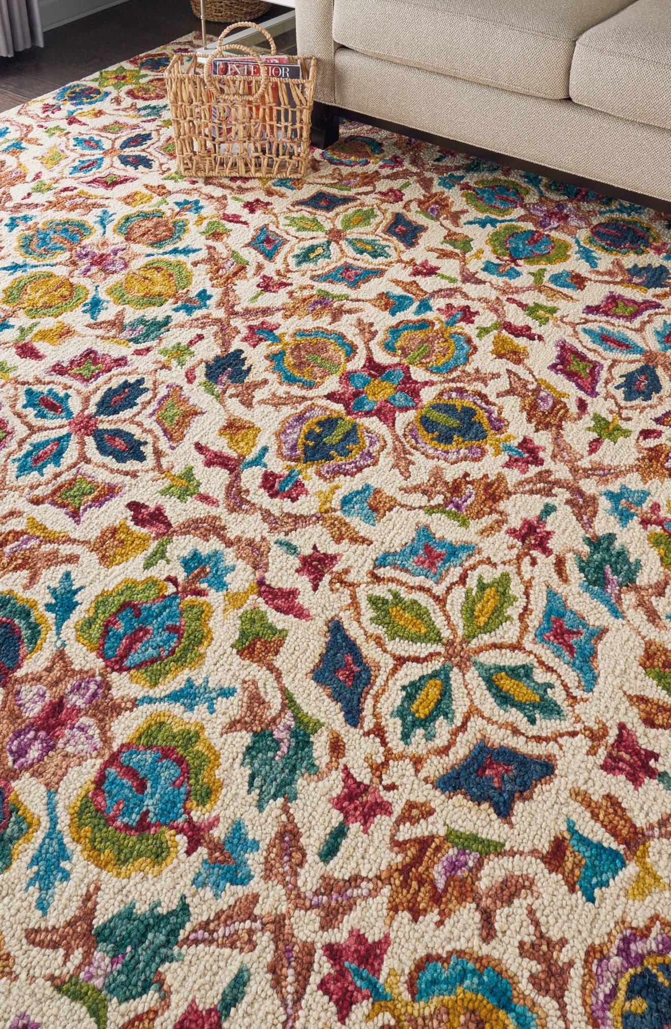 Alternate Image 3  - Nourison Vivid Wool Rug