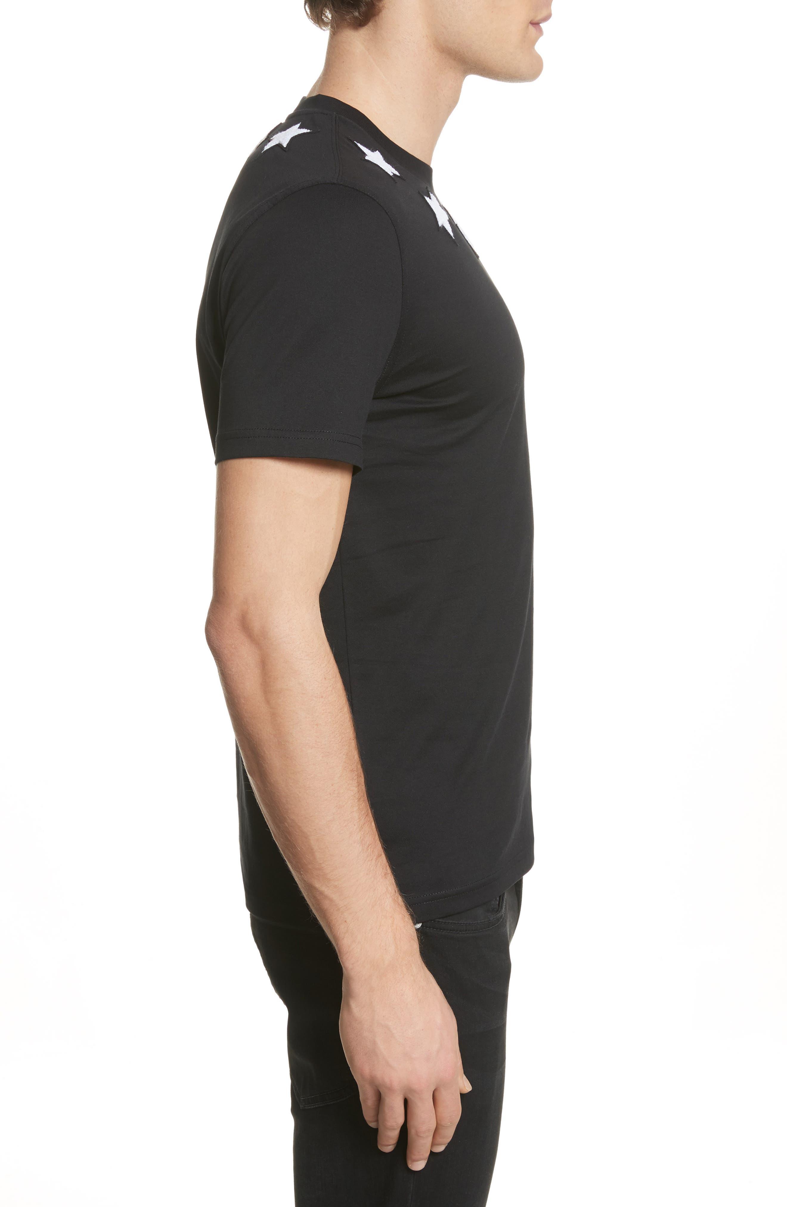 Alternate Image 3  - Givenchy Star Appliqué T-Shirt