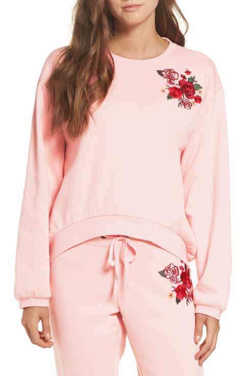 Make + Model Embroidered Sweatshirt