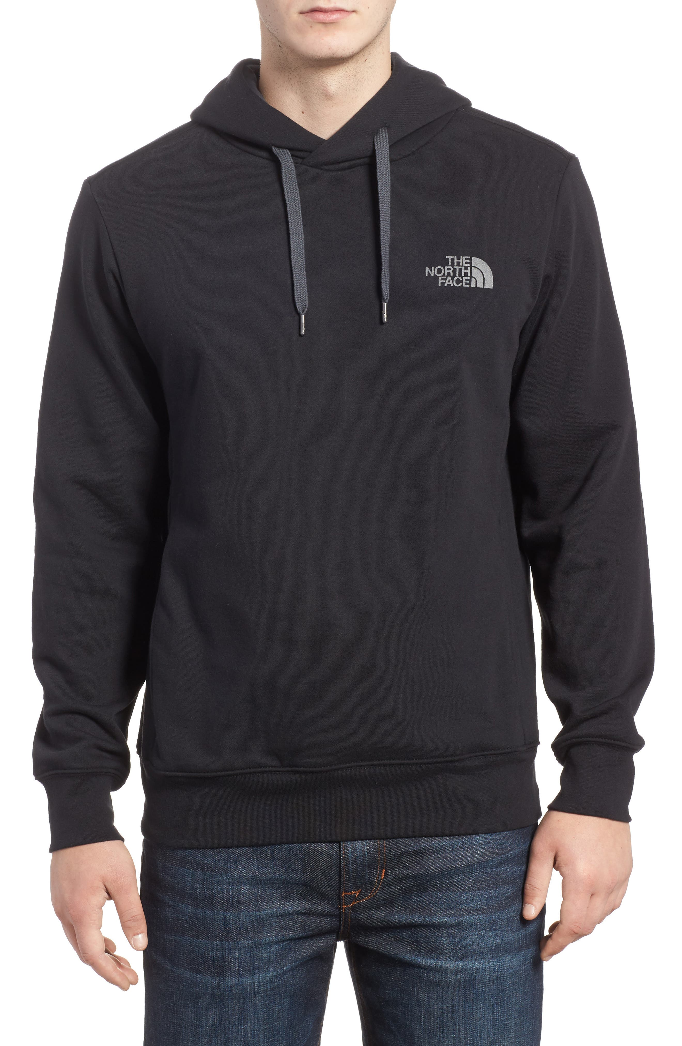 Alternate Image 1 Selected - The North Face Trivert Cotton Blend Hoodie