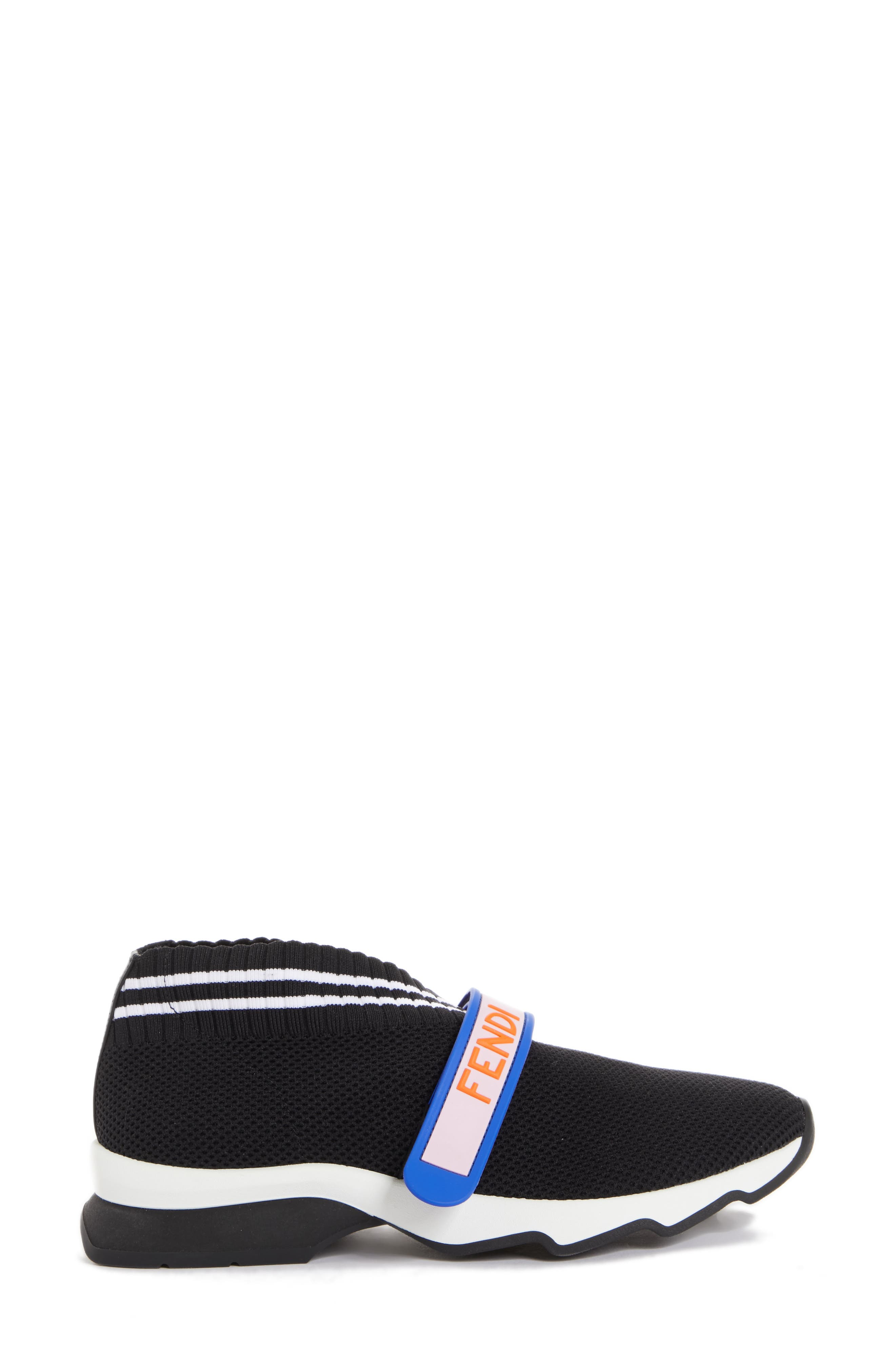 Rockoko Mismatch Sneaker,                             Alternate thumbnail 3, color,                             Black