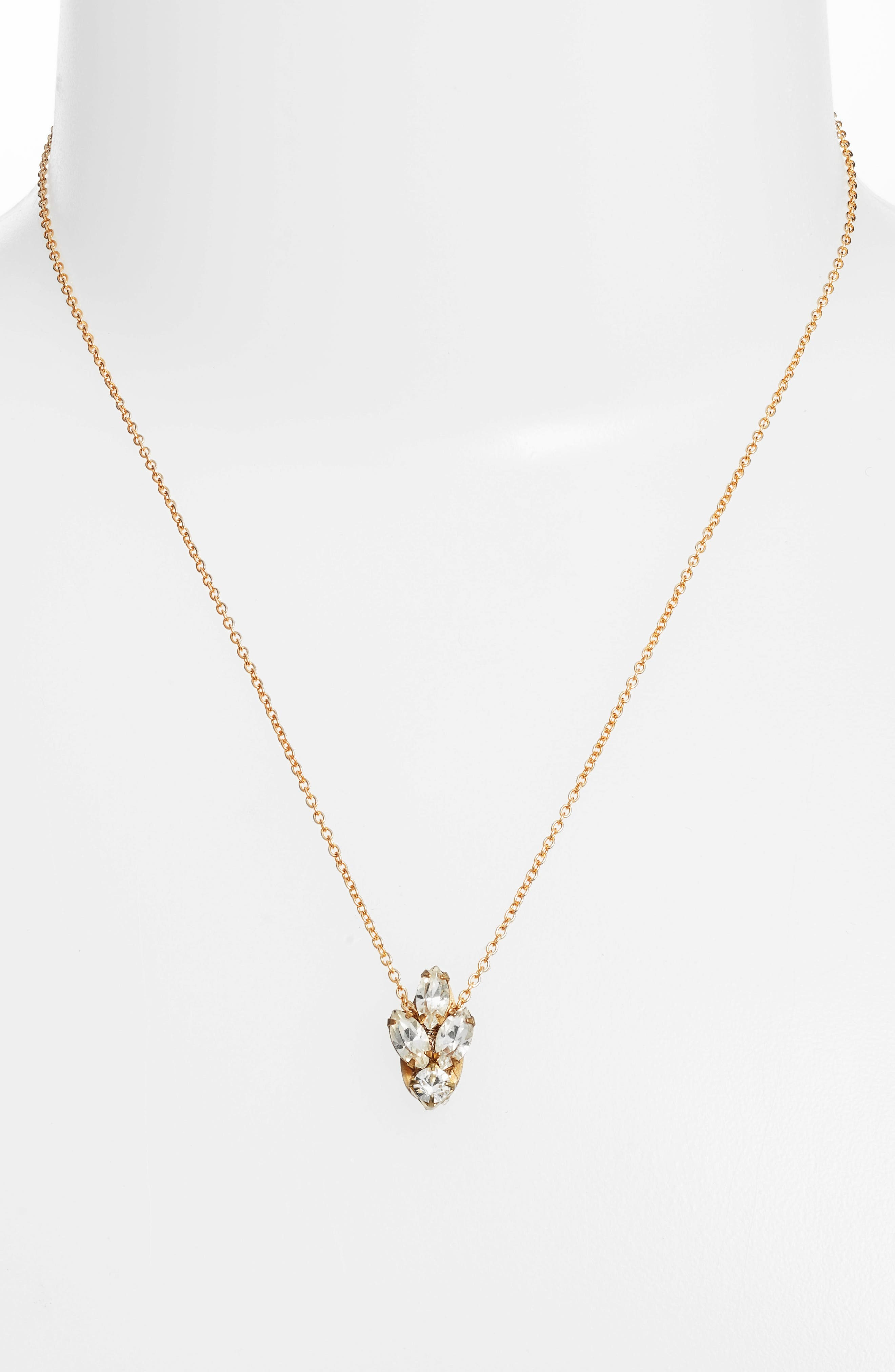 Alternate Image 2  - Sandy Hyun Mini Crystal Necklace
