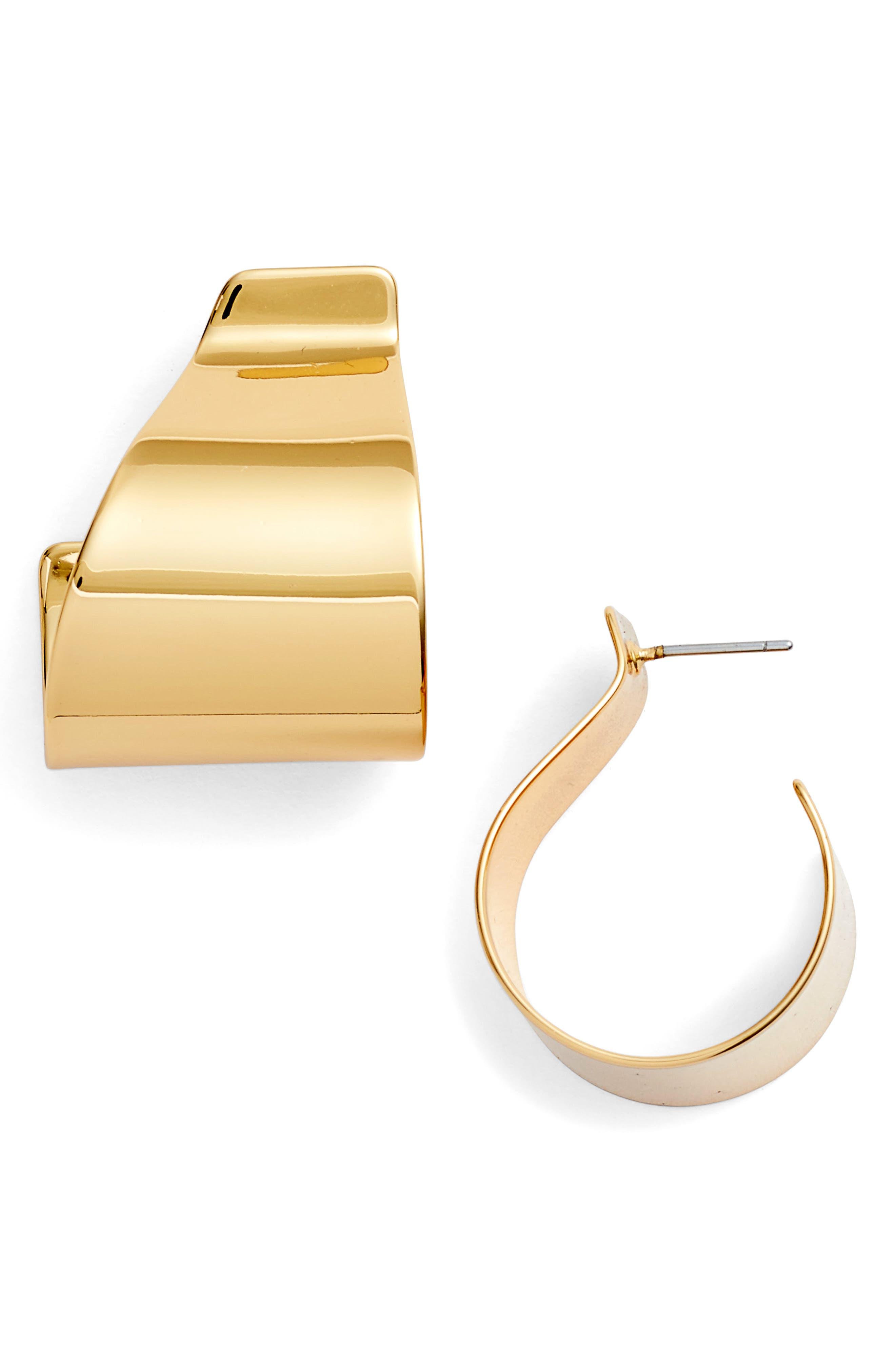 Dune Hoops,                         Main,                         color, Gold