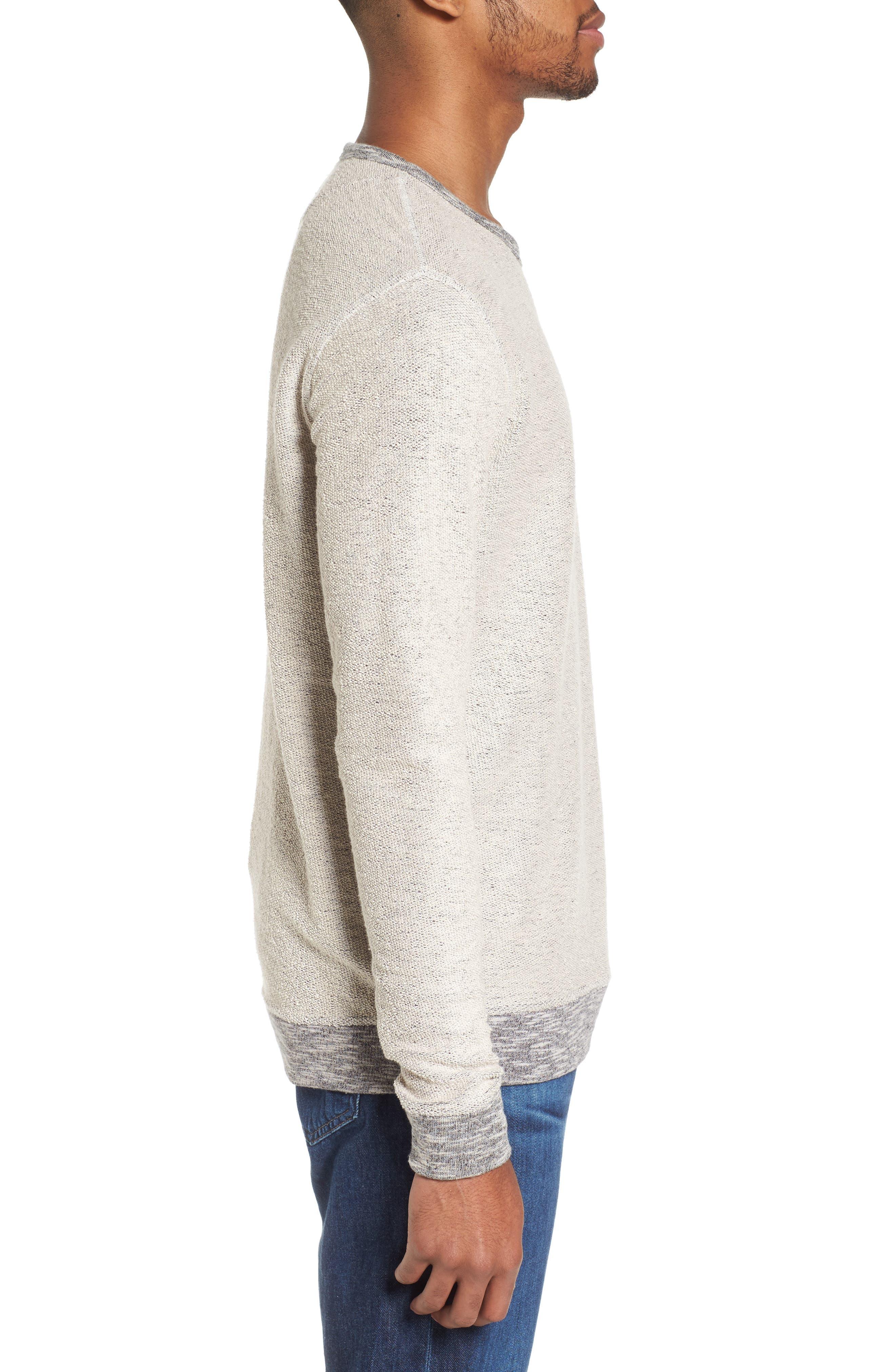 Alternate Image 3  - Vestige Reverse French Terry Sweatshirt