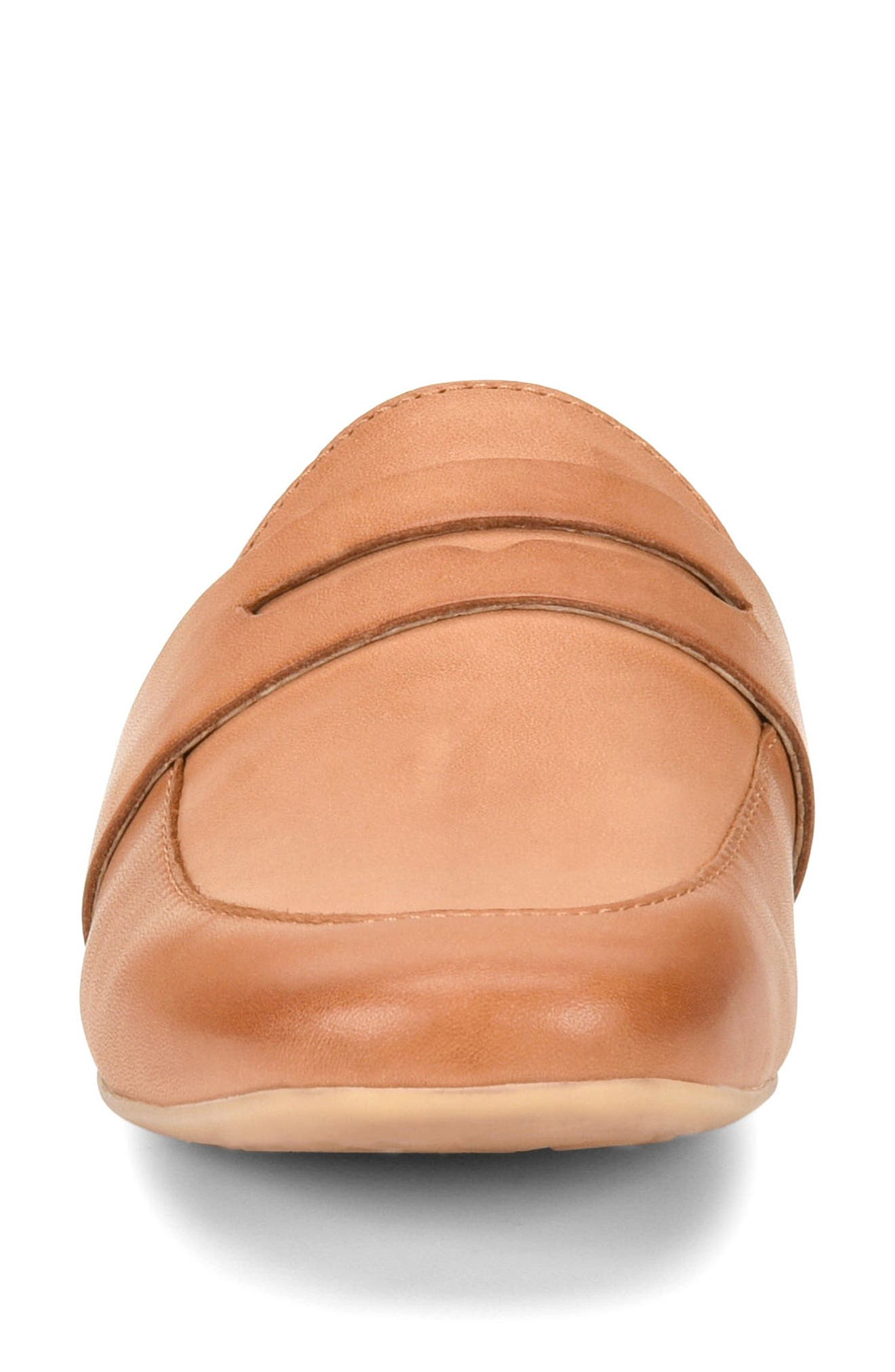 Cayo Mule,                             Alternate thumbnail 4, color,                             Brown Leather
