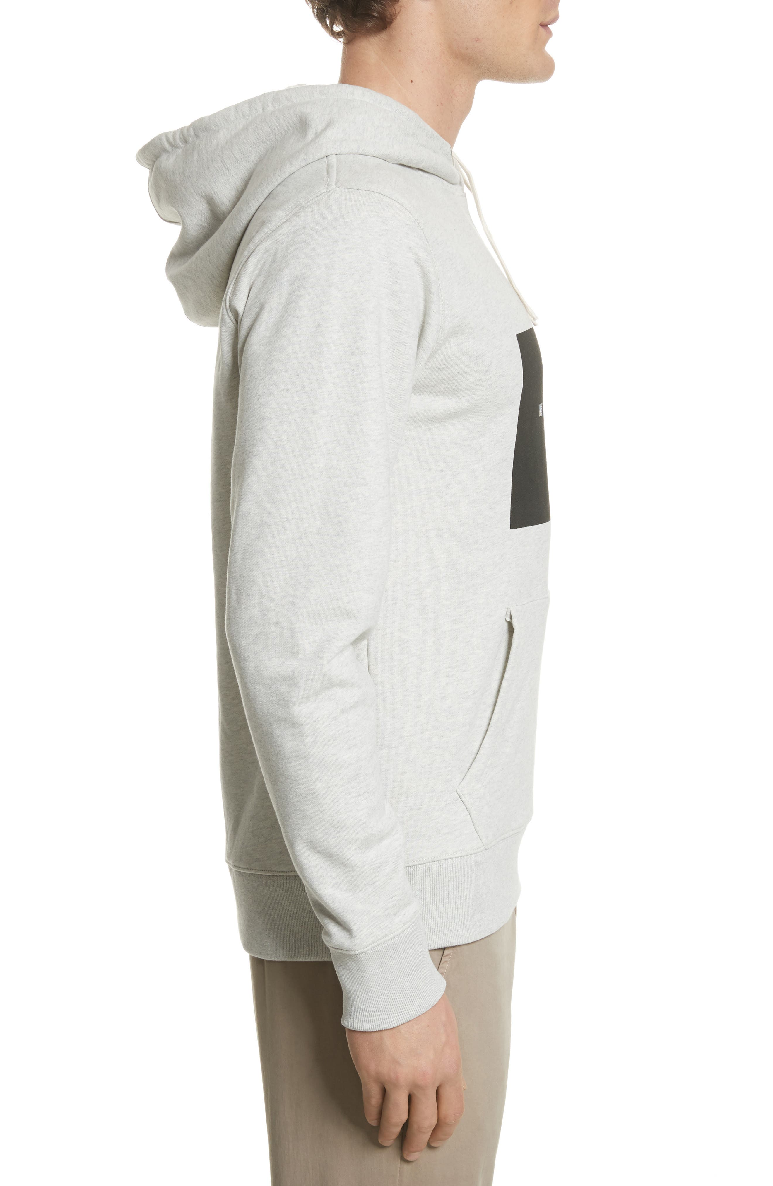 Ditch Graphic Hoodie,                             Alternate thumbnail 3, color,                             Natural Heather