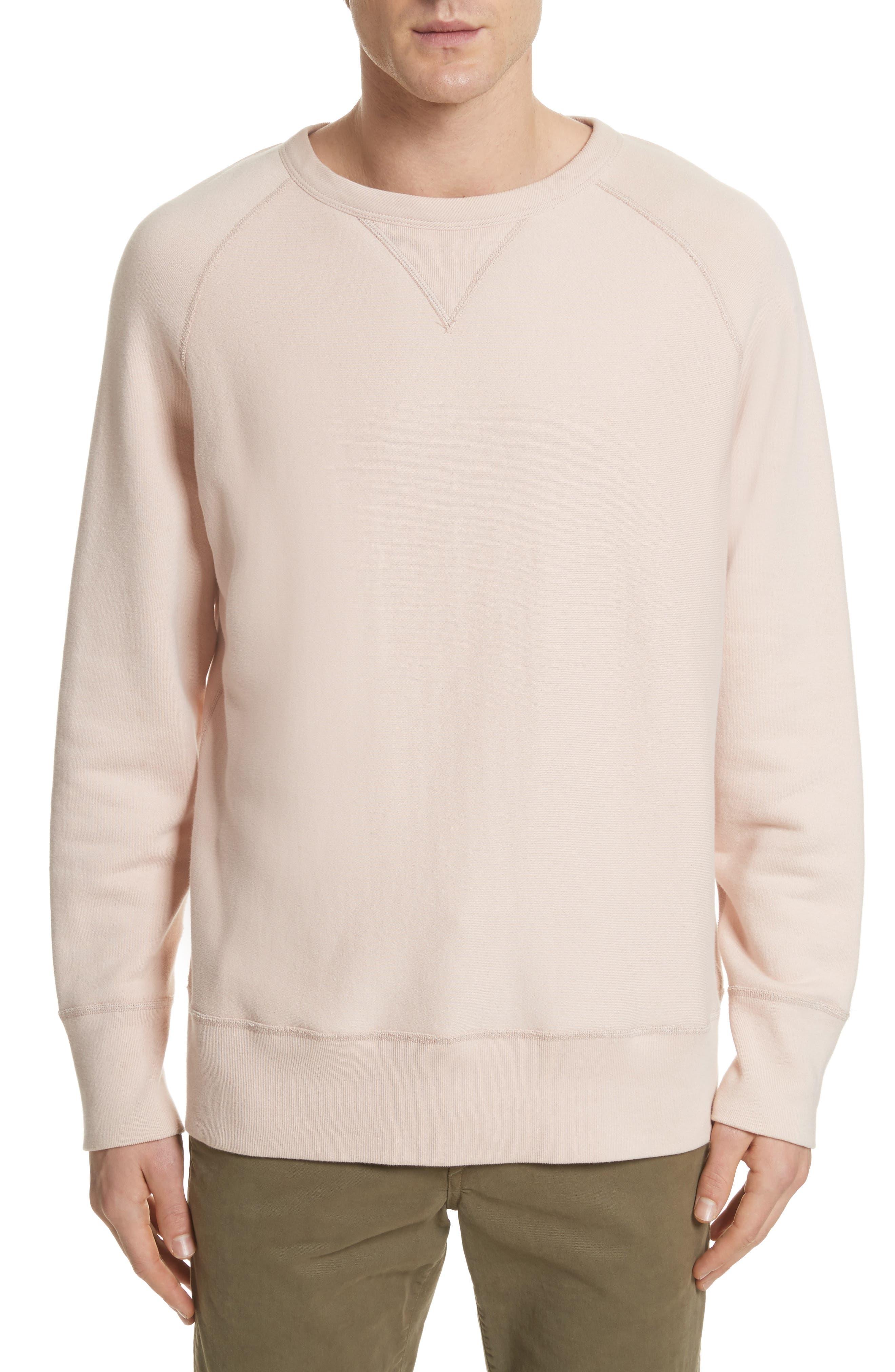 rag & bone Racer Crewneck Sweatshirt
