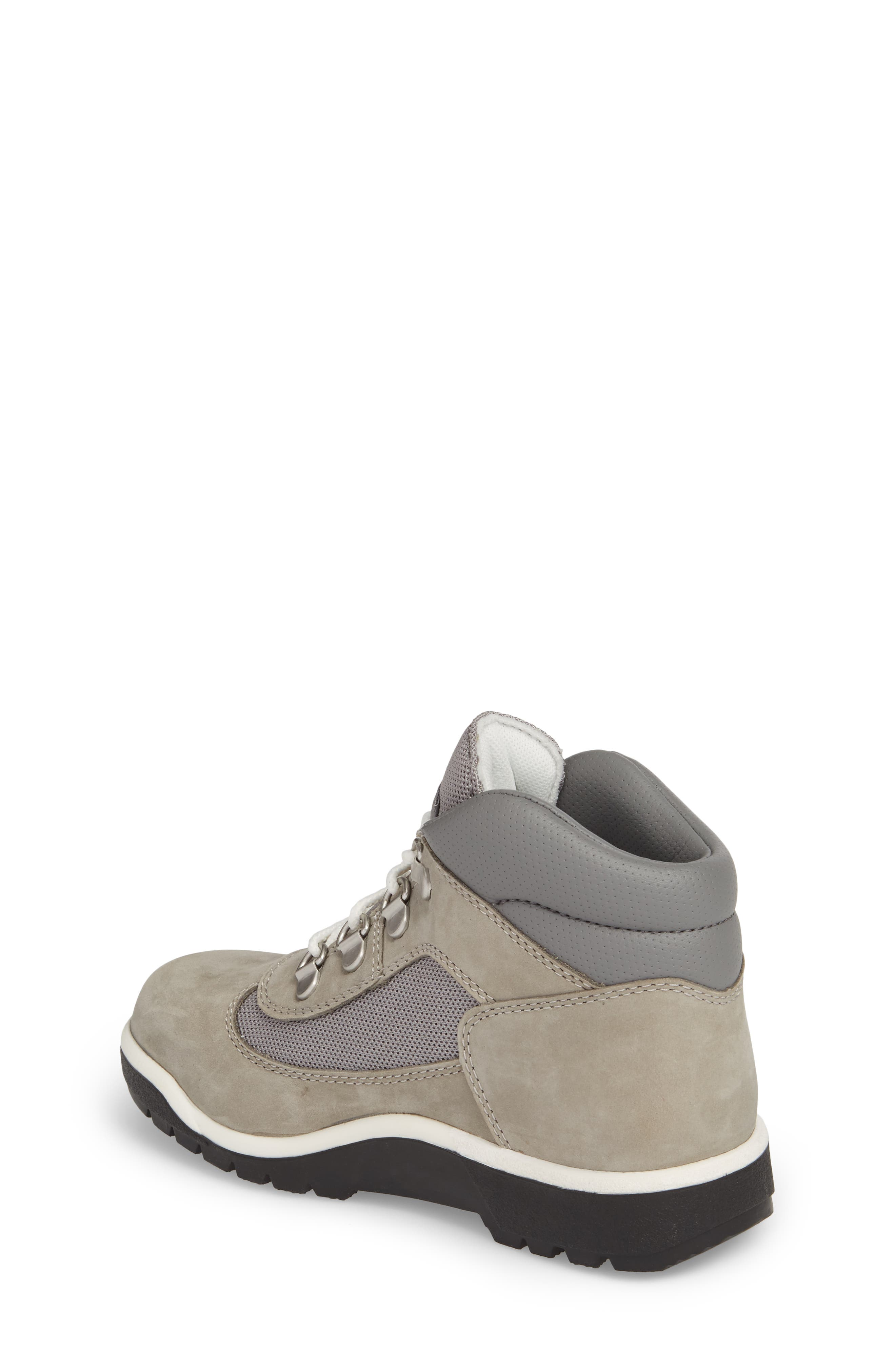 Water-Resistant Chukka Field Boot,                             Alternate thumbnail 2, color,                             Lite Grey