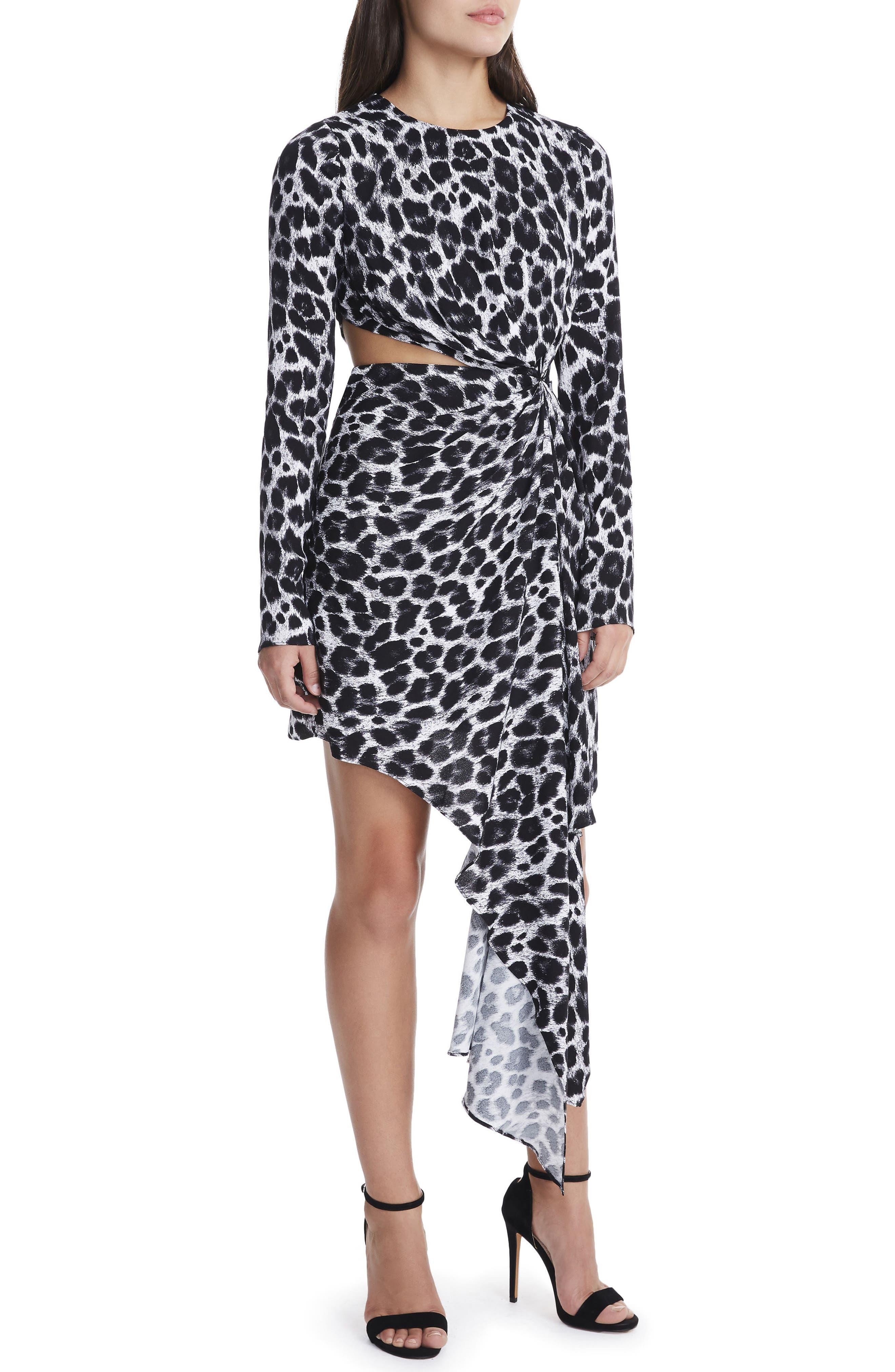 Alternate Image 1 Selected - AFRM Amos Cutout Dress