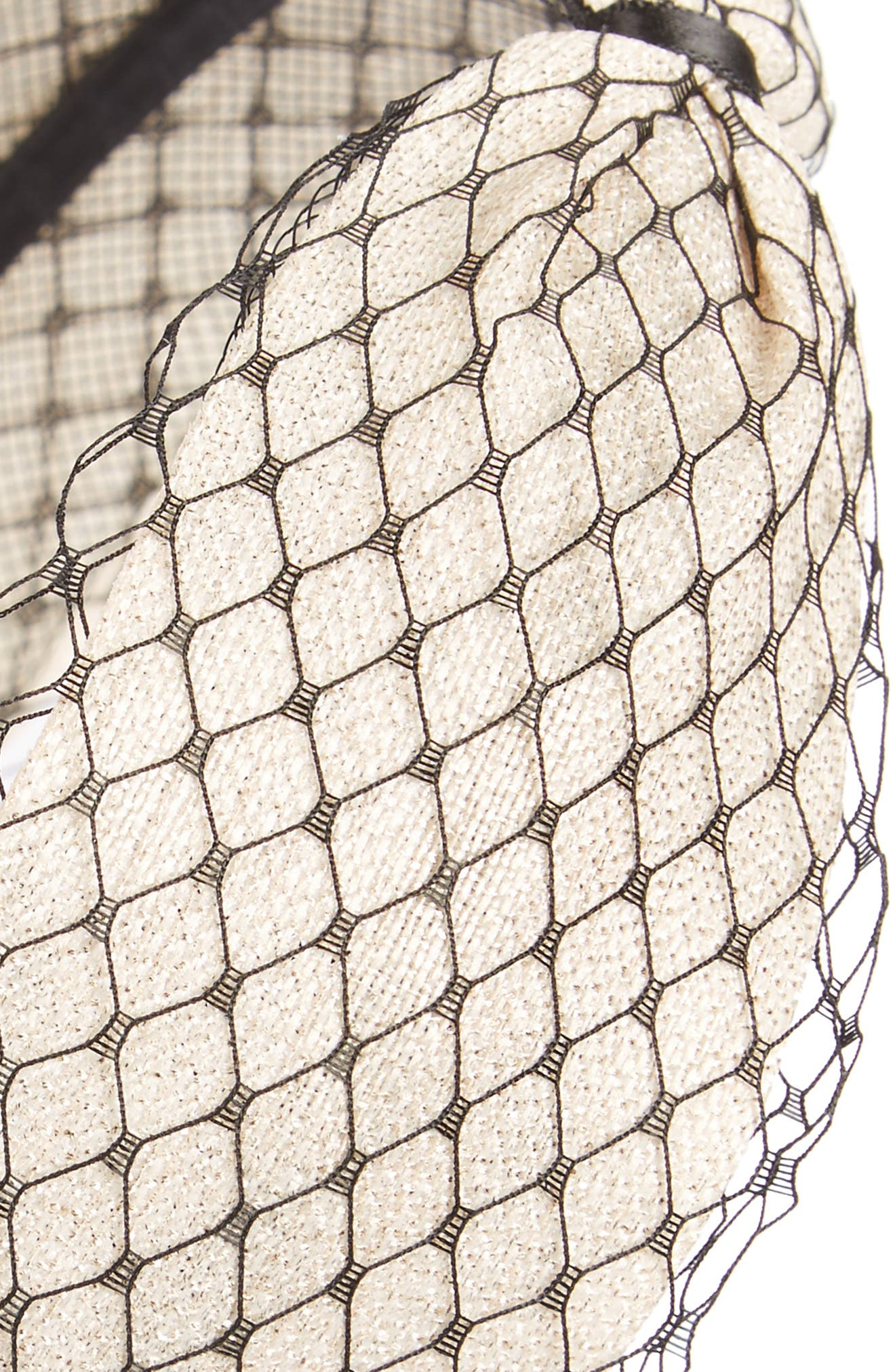 Mesh Headband,                             Alternate thumbnail 2, color,                             Ivory