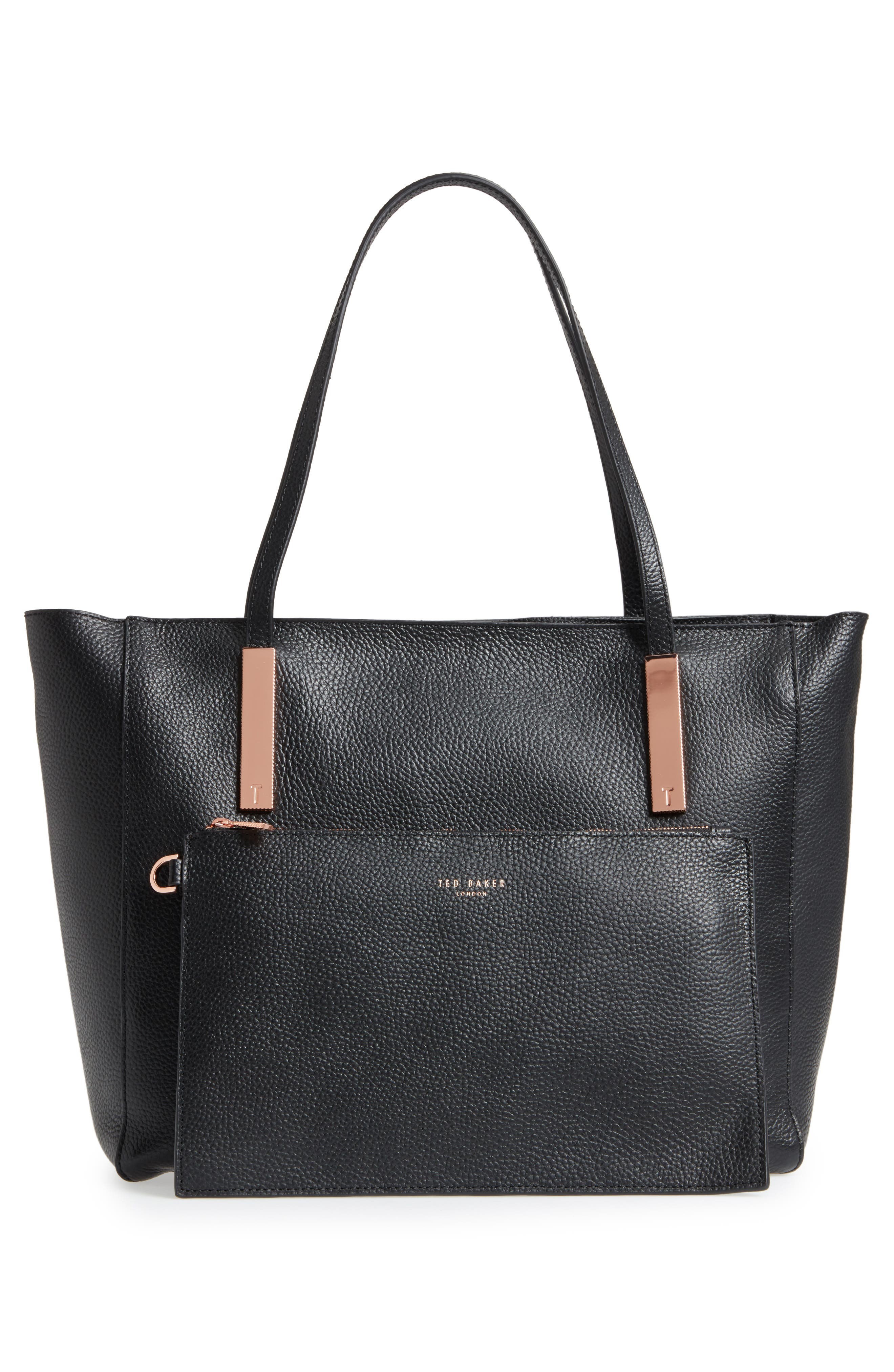 Alternate Image 3  - Ted Baker London Sarahh Leather Shopper
