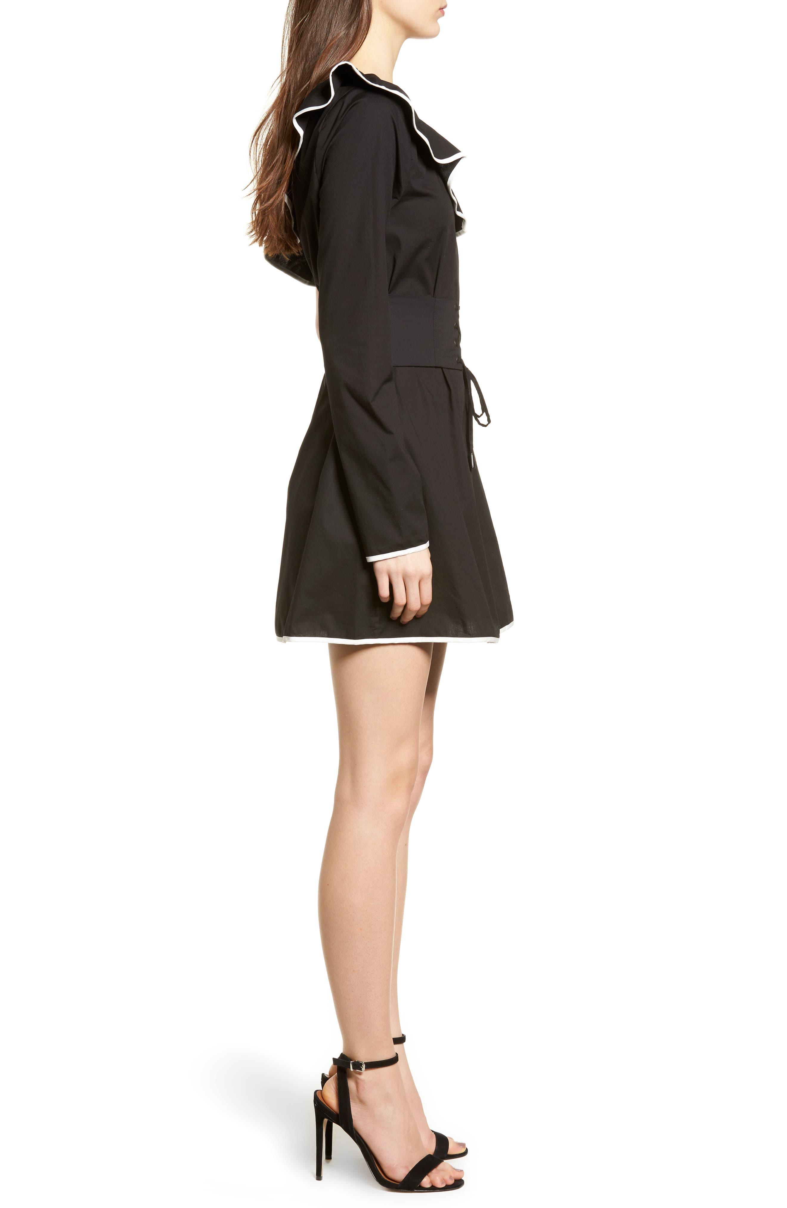 Alternate Image 3  - Lovers + Friends Helen One-Shoulder Ruffle Dress