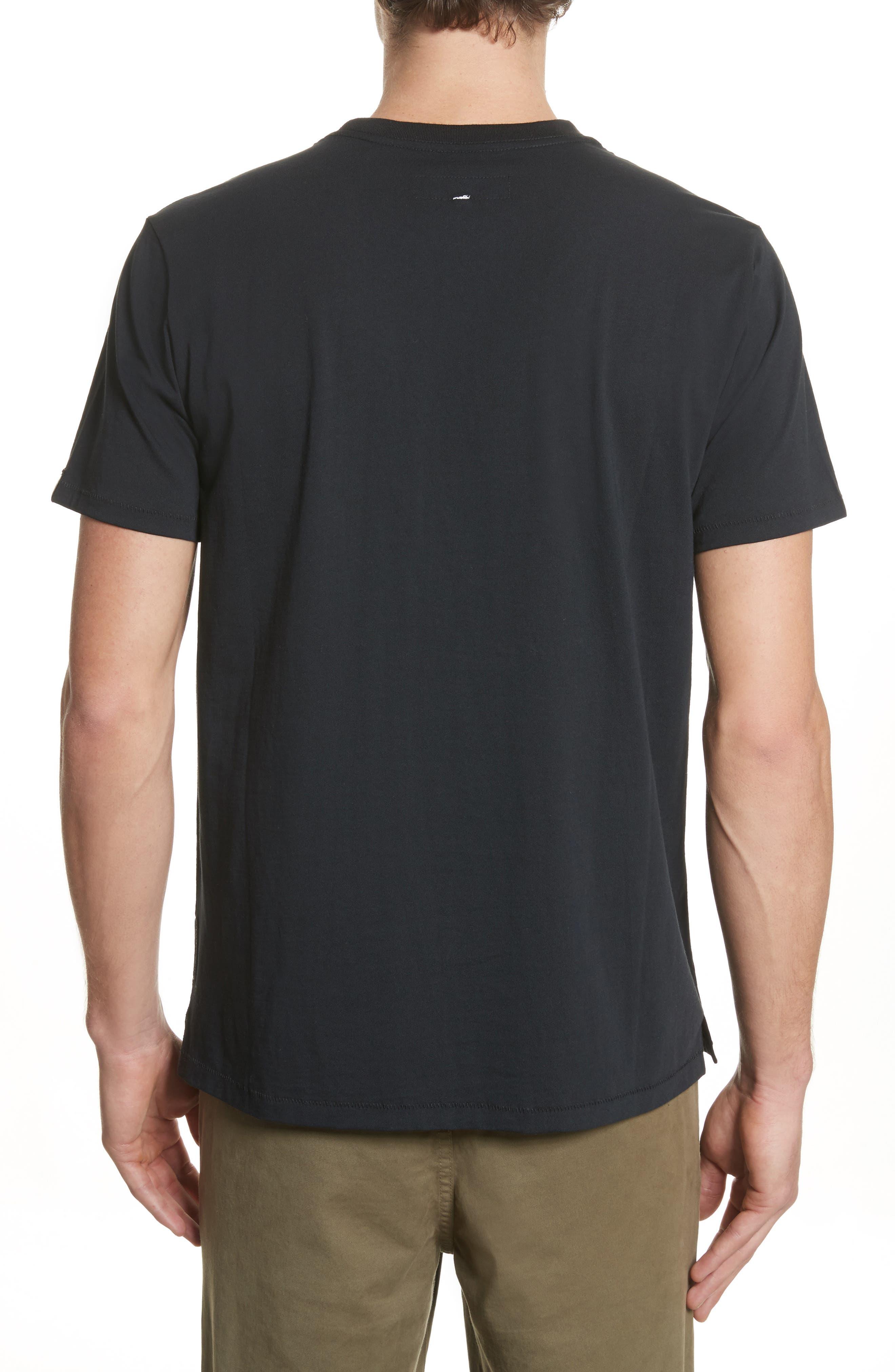 Japan Graphic T-Shirt,                             Alternate thumbnail 2, color,                             Black