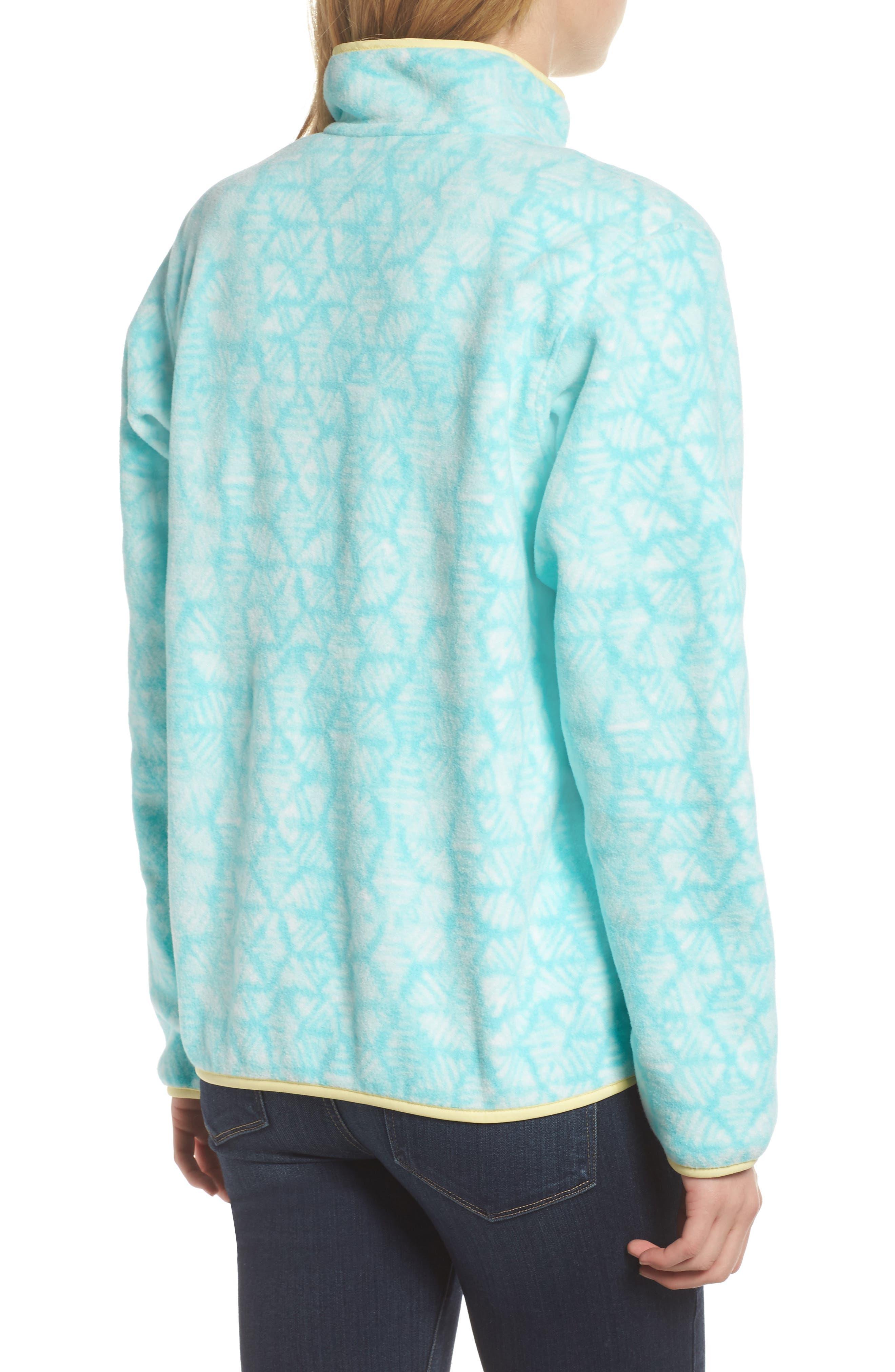 Synchilla Snap-T<sup>®</sup> Fleece Pullover,                             Alternate thumbnail 2, color,                             Batik Hex Big/ Bend Blue