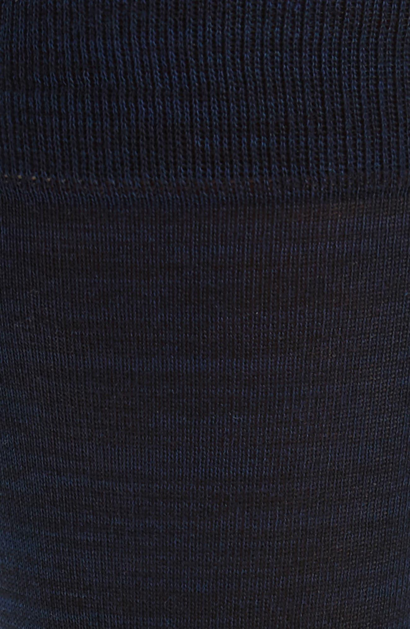 Solid Socks,                             Alternate thumbnail 2, color,                             Midnight