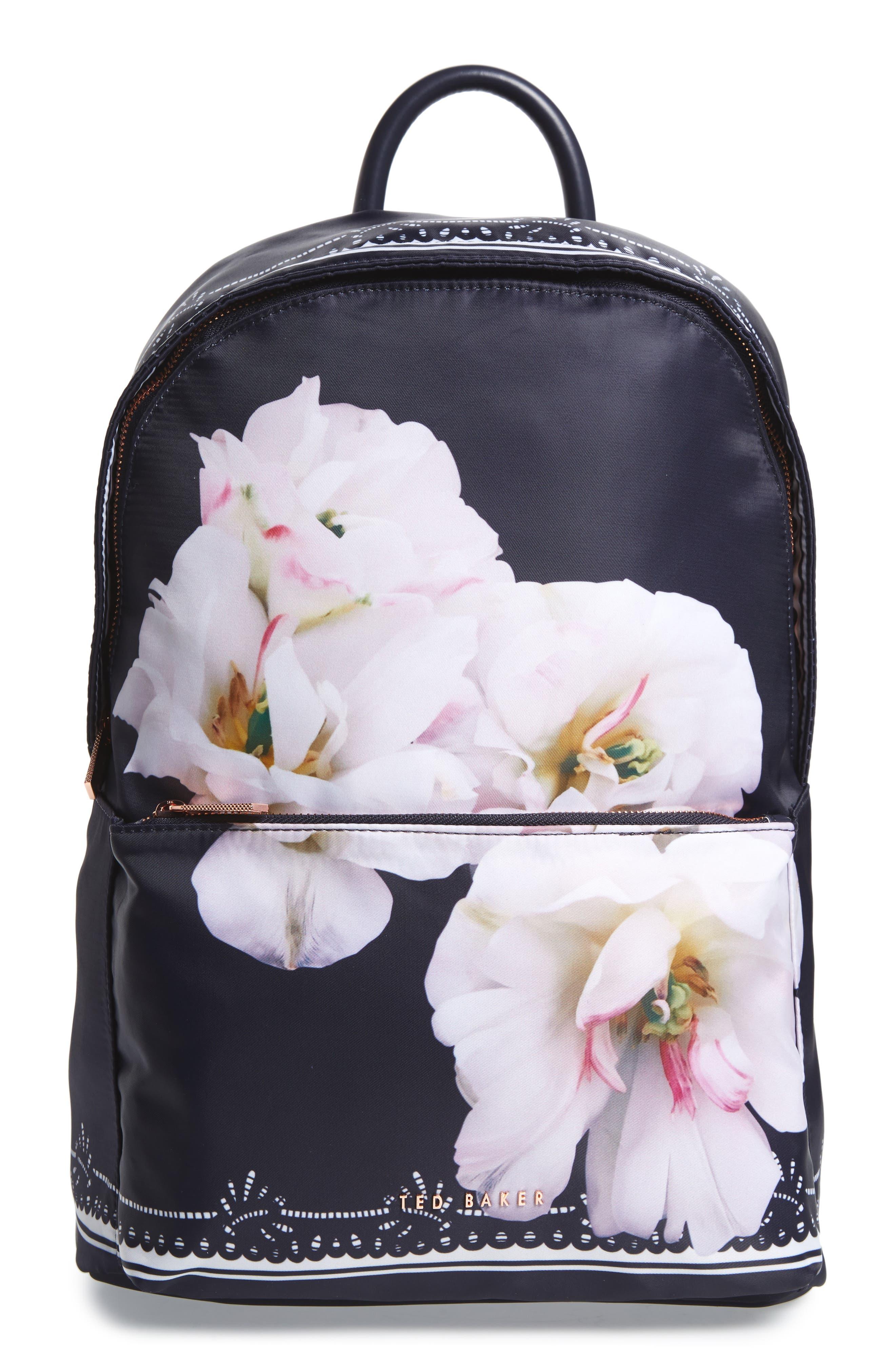 Kayleey Gardenia Backpack,                             Main thumbnail 1, color,                             Dark Blue