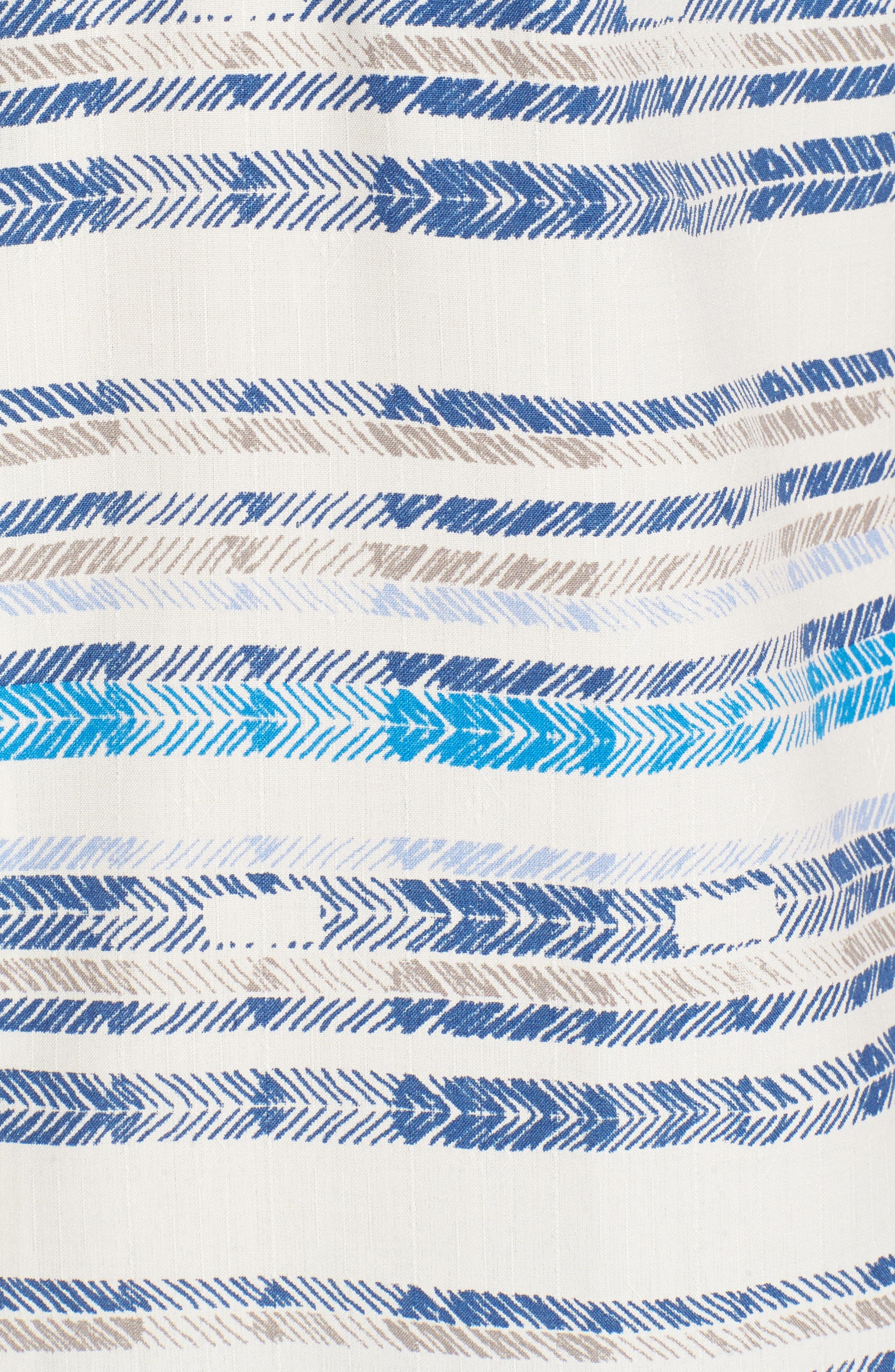 Breaker Bay Sport Shirt,                             Alternate thumbnail 5, color,                             Coconut Cream