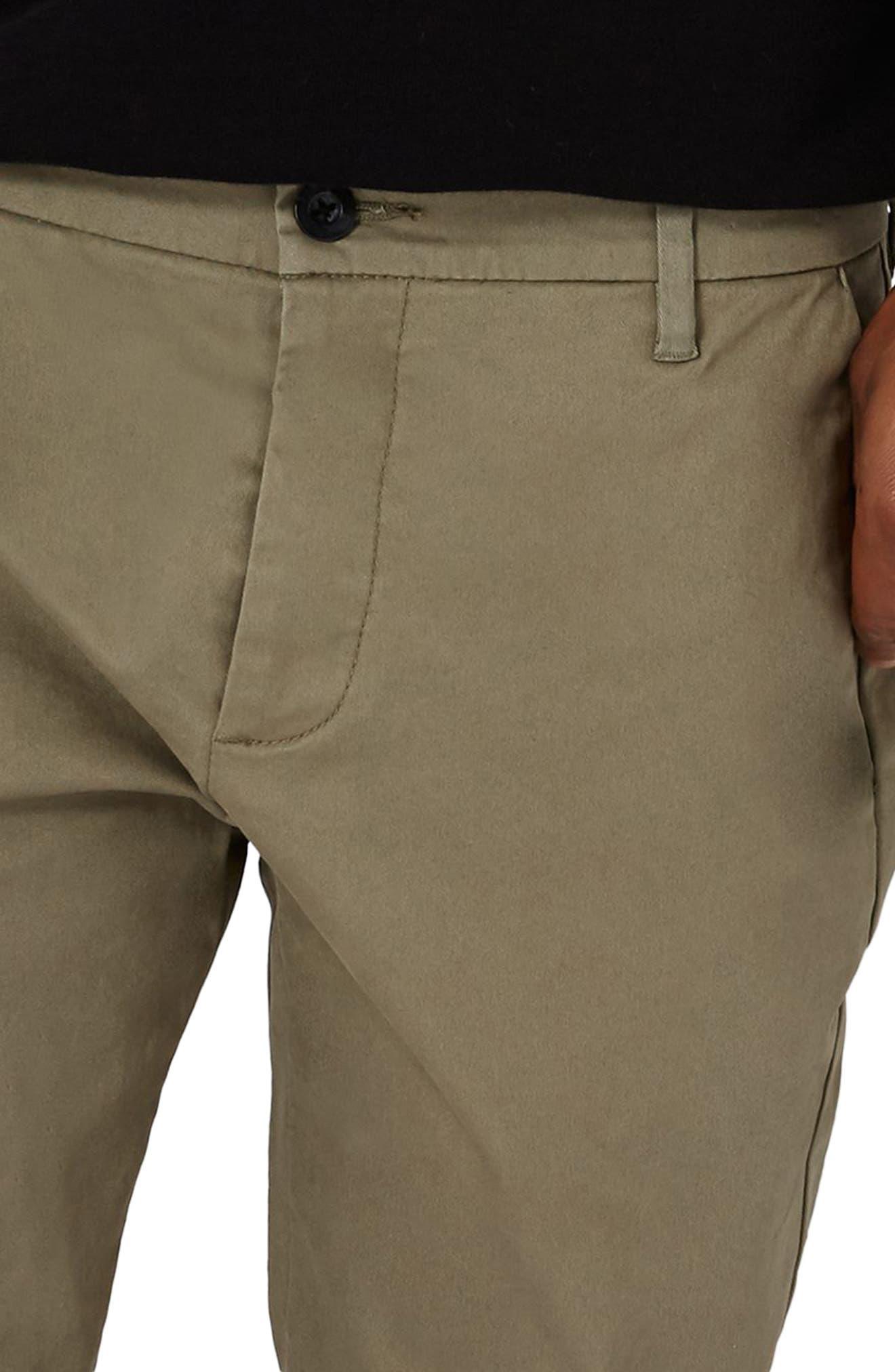 Alternate Image 3  - Topman Stretch Skinny Fit Chinos