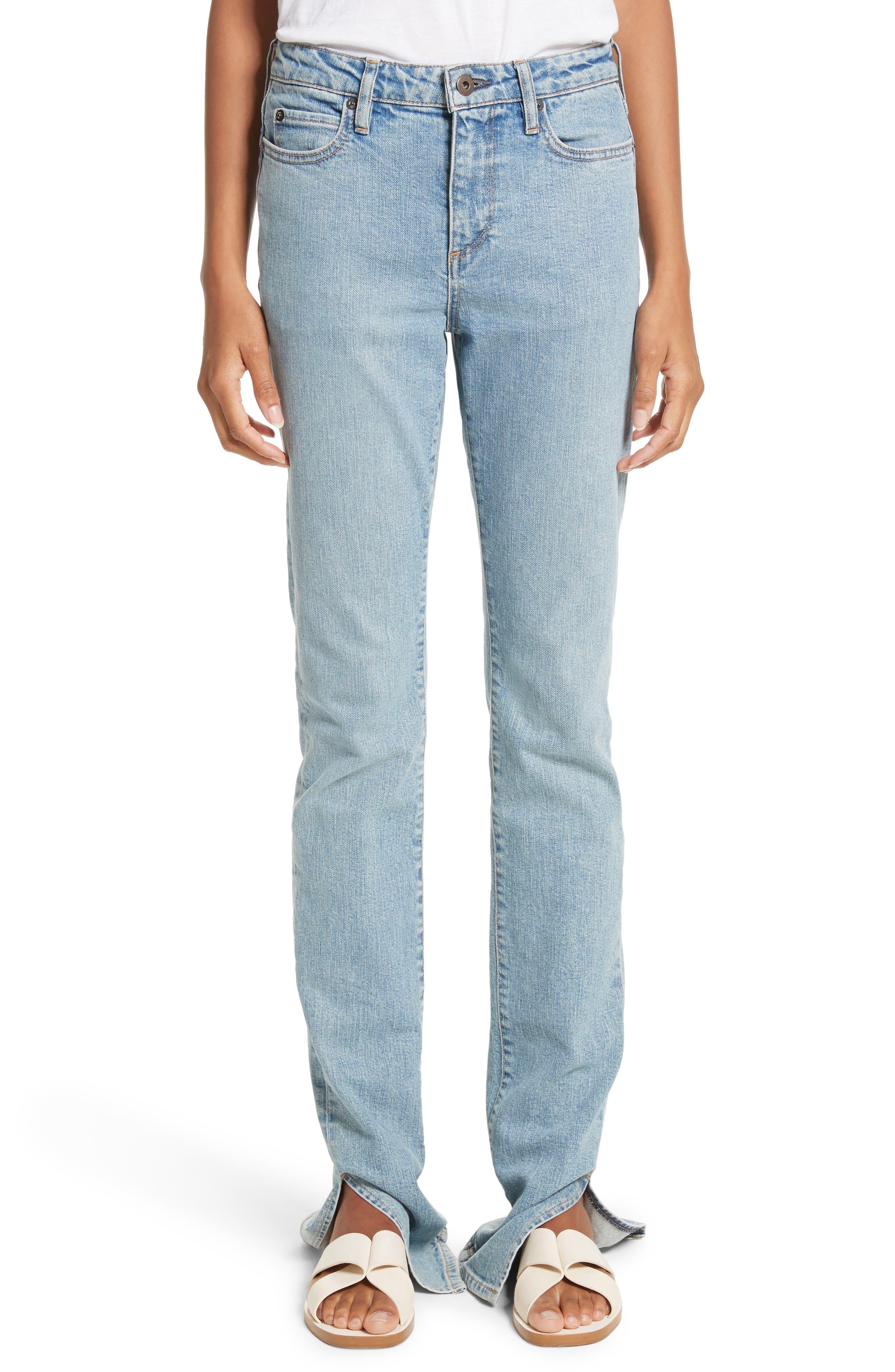 Simon Miller Lowry Split Hem Jeans