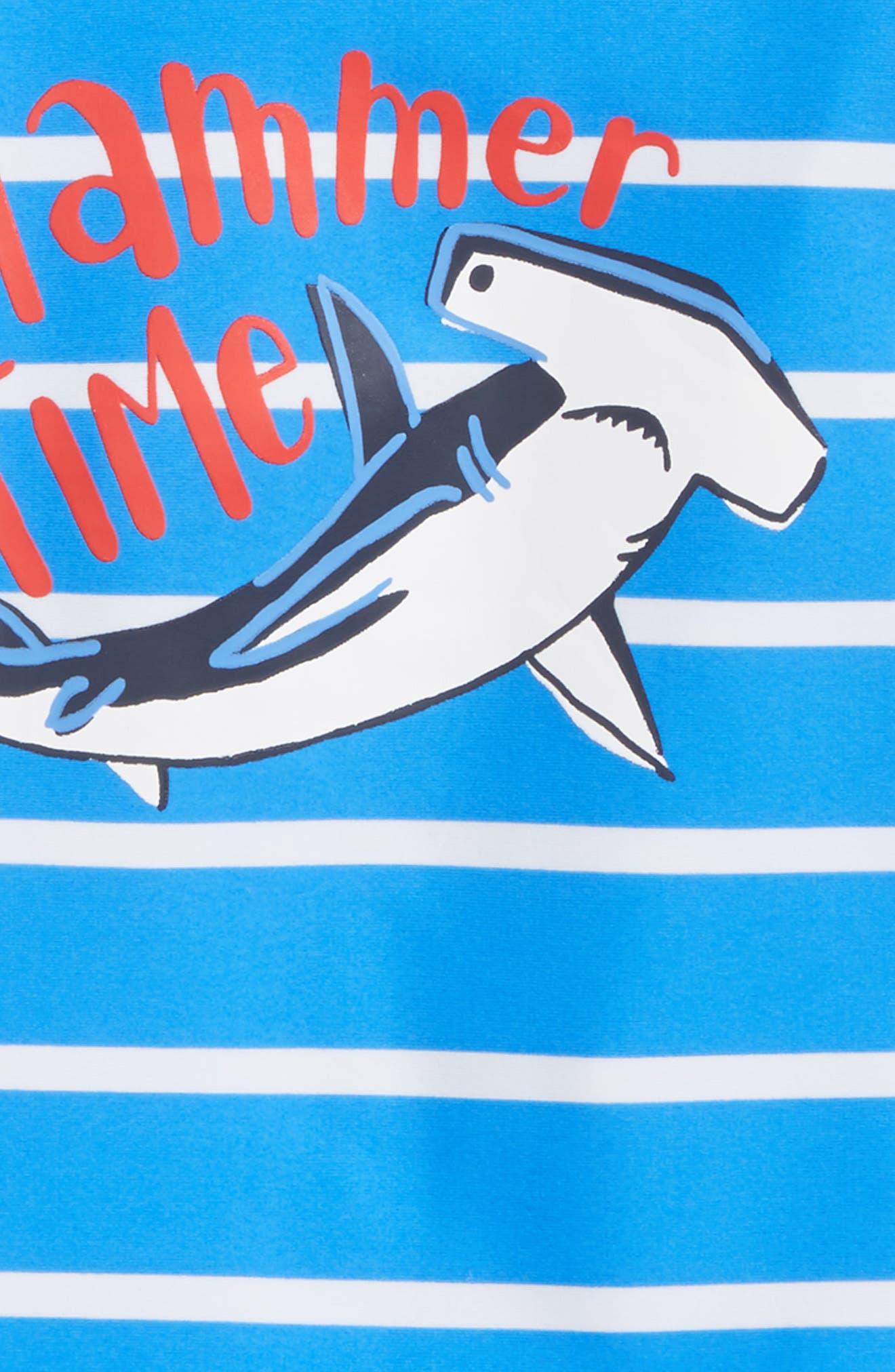 One-Piece Rashguard Swimsuit,                             Alternate thumbnail 2, color,                             Surf Island