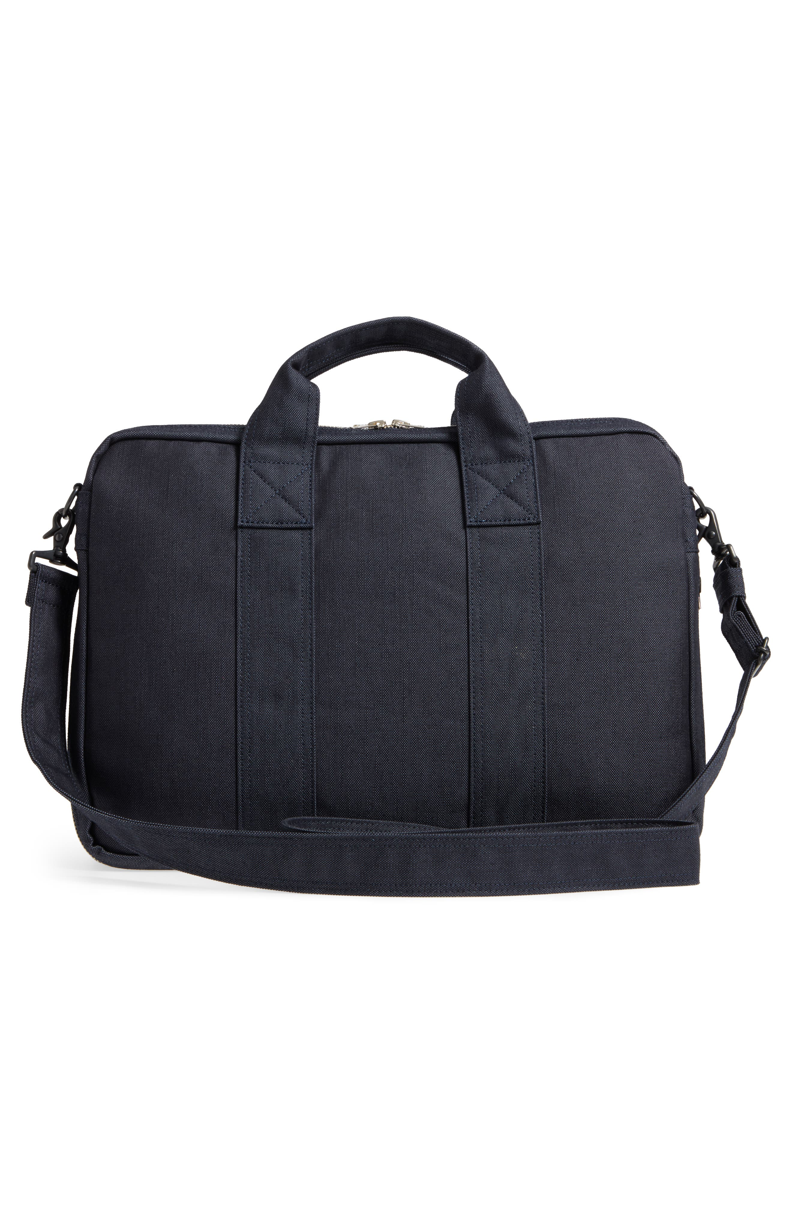 Porter-Yoshida & Co. Smoky Two-Way Briefcase,                             Alternate thumbnail 3, color,                             Navy