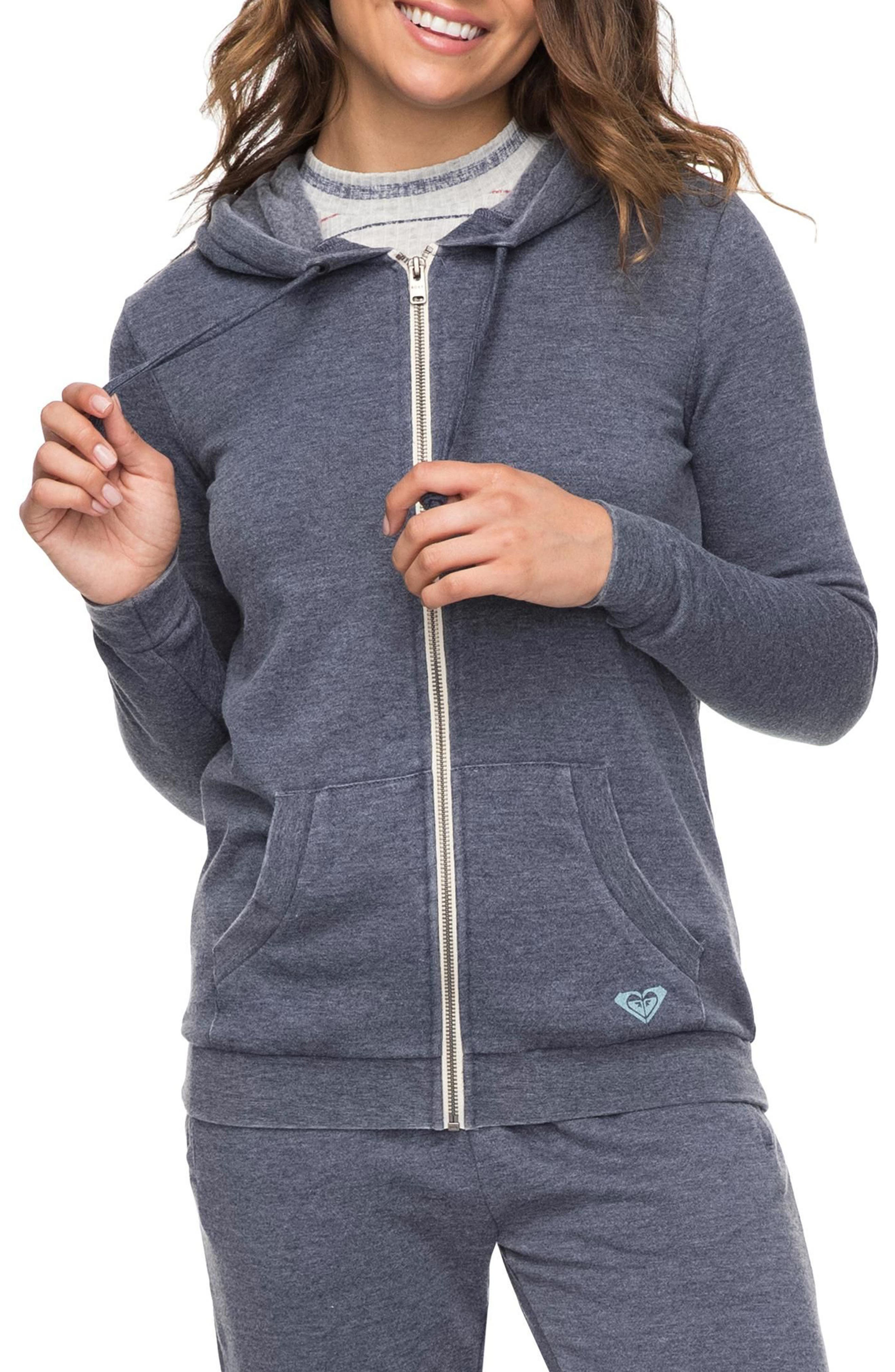 Groovy Stardust Hoodie,                         Main,                         color, Dress Blues