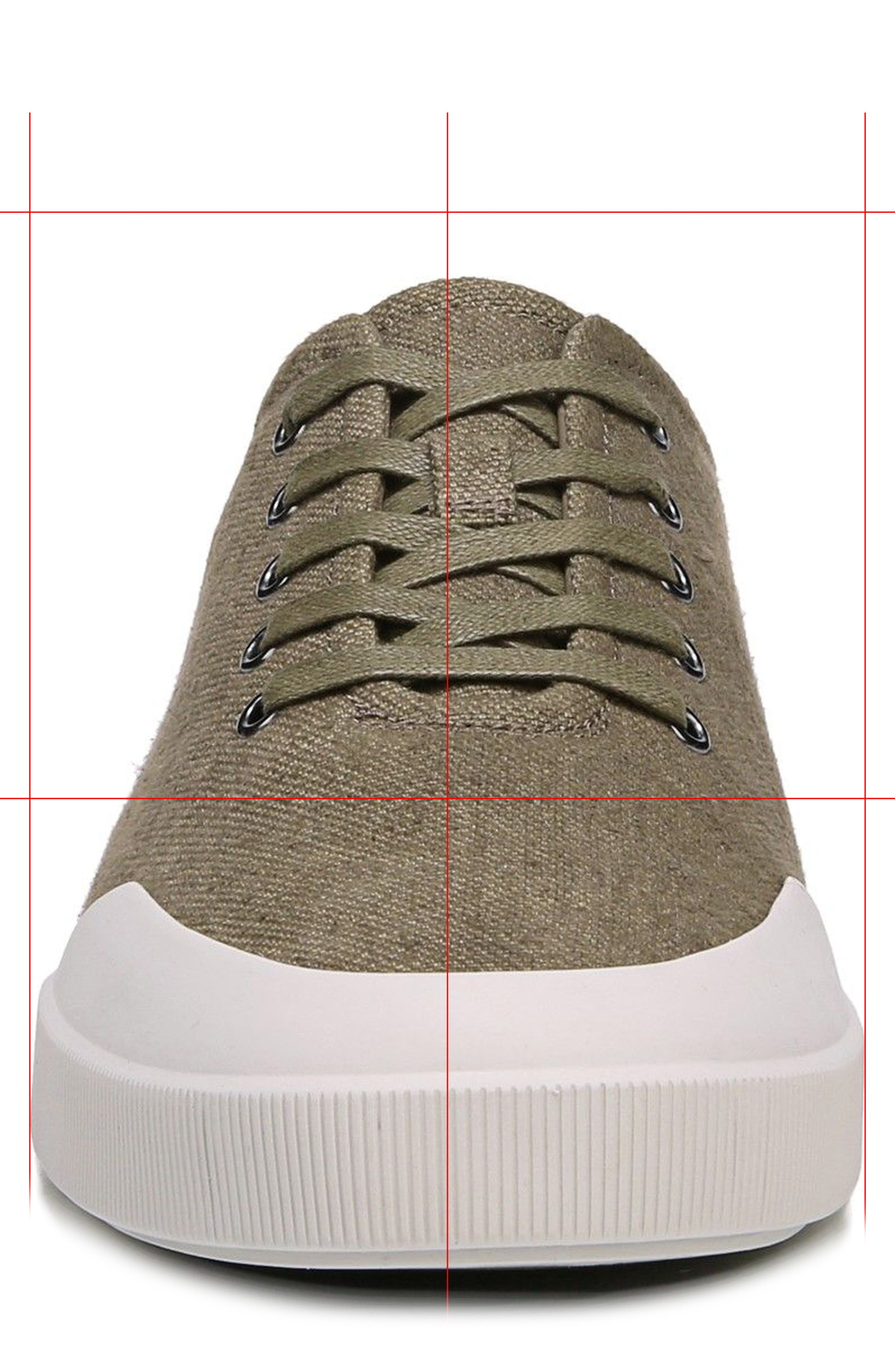 Victor Low Top Sneaker,                             Alternate thumbnail 4, color,                             Flint/ Cuoio