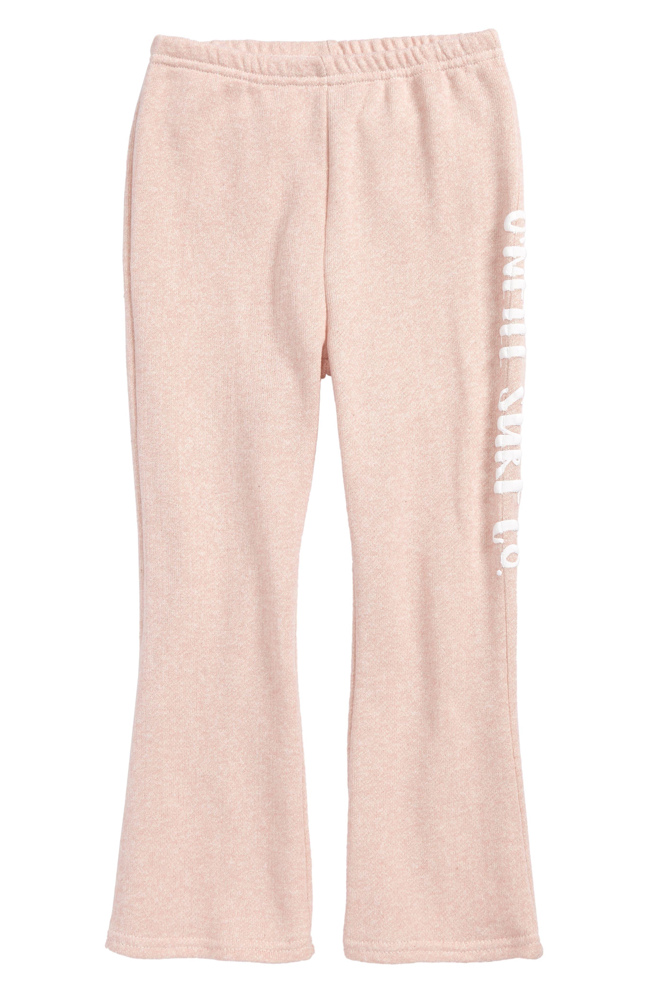 Beach Belle Fleece Pants,                             Main thumbnail 1, color,                             Peony