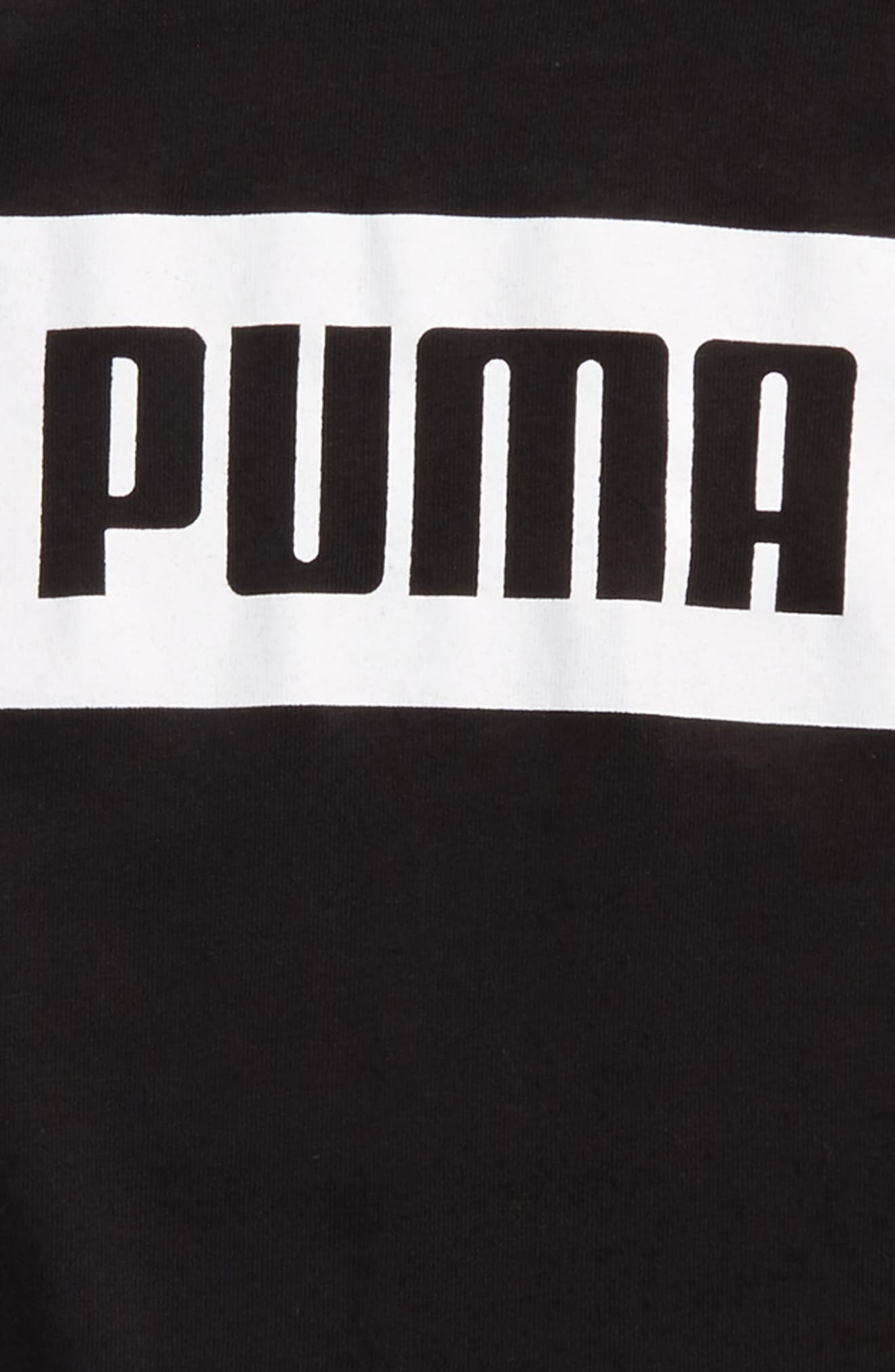 Rebel Graphic T-Shirt,                             Alternate thumbnail 2, color,                             Puma Black