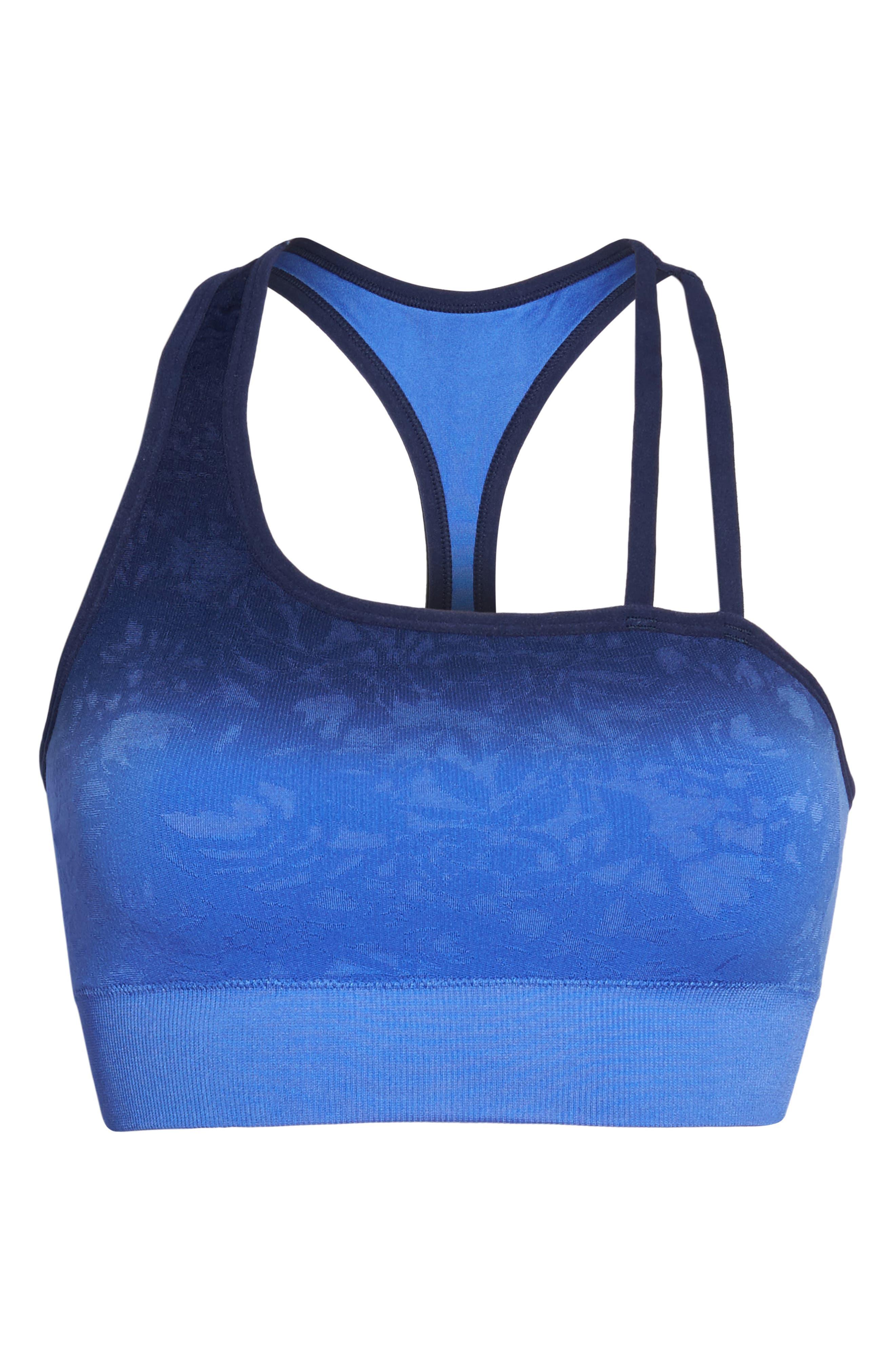 Formation Sports Bra,                             Alternate thumbnail 7, color,                             Amparo Blue W/ Medieval Blue