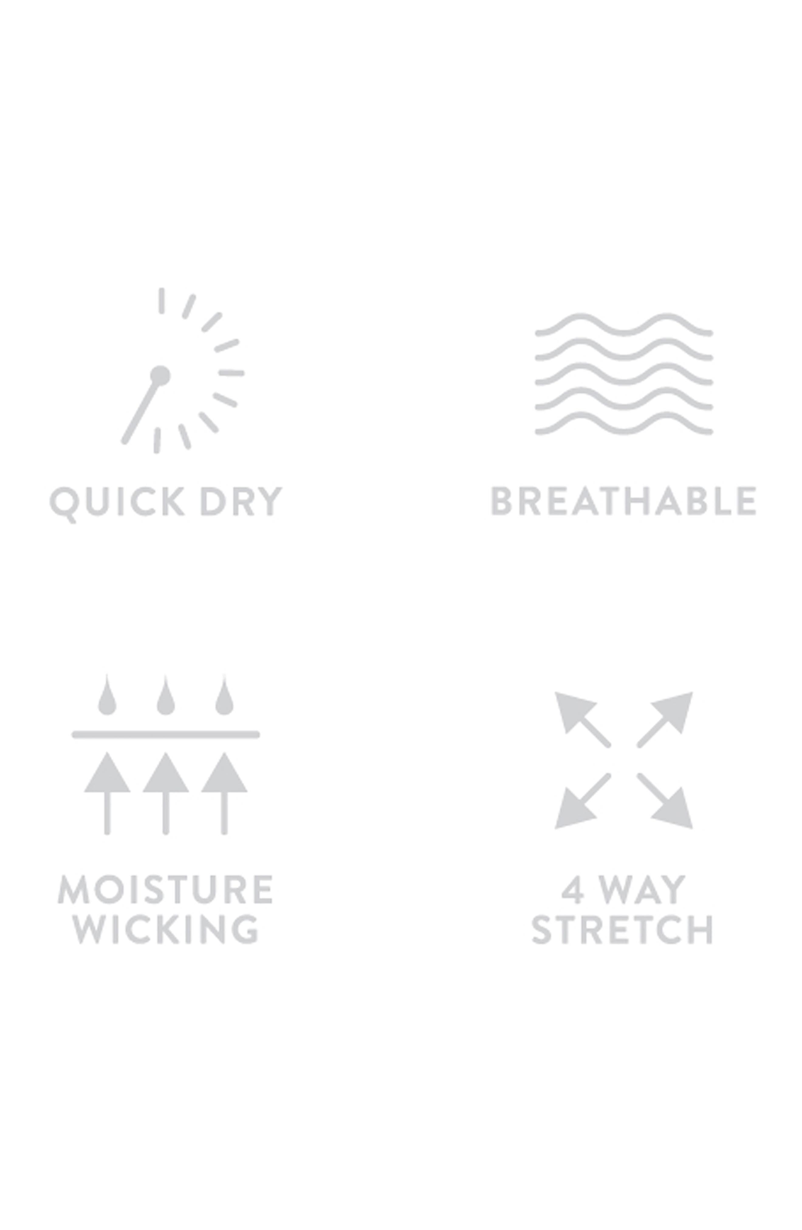 Alternate Image 5  - Nordstrom Men's Shop Tech-Smart Trim Fit Stretch Check Dress Shirt
