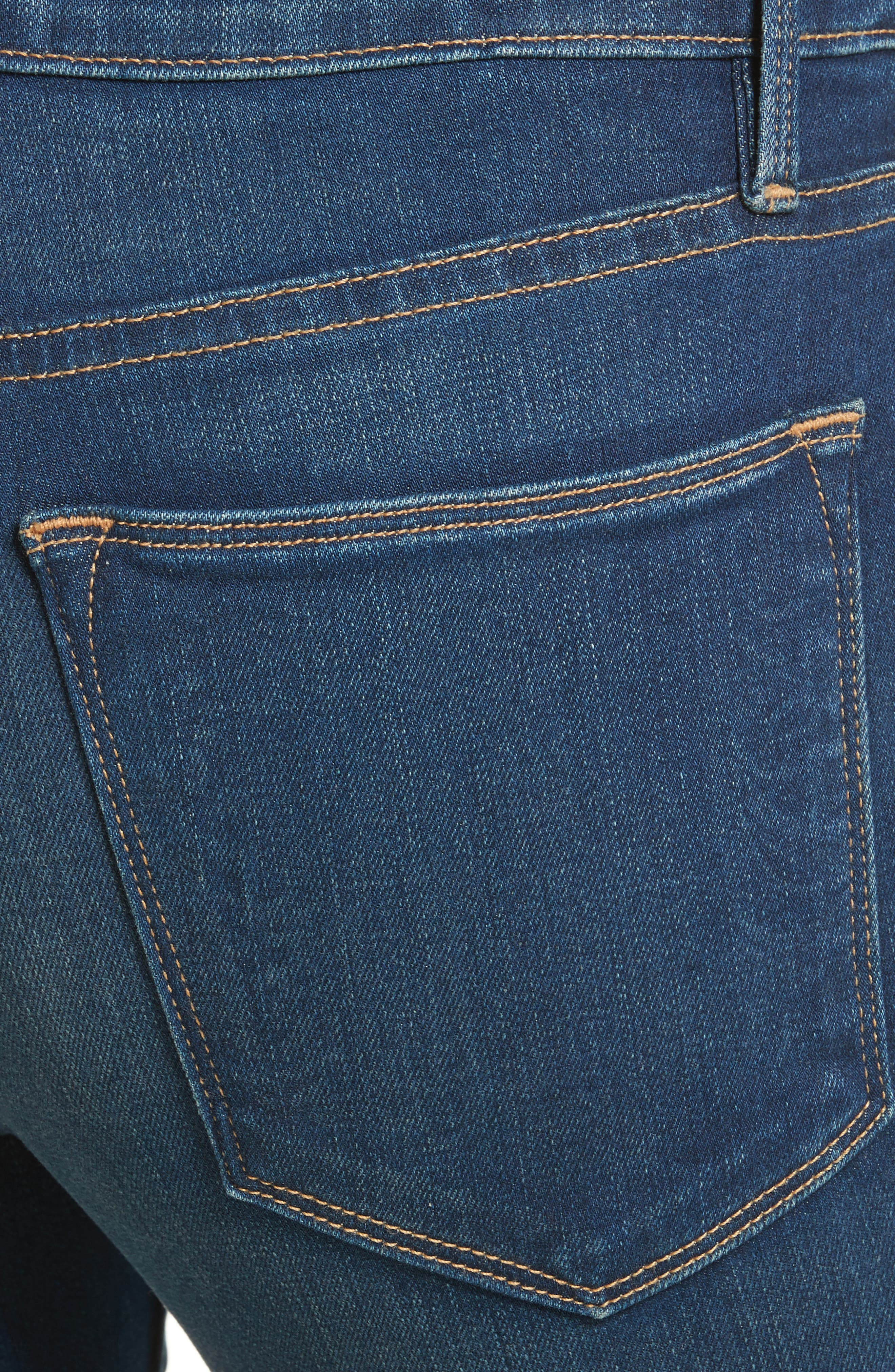Le High Skinny Ankle Jeans,                             Alternate thumbnail 4, color,                             Murray Field