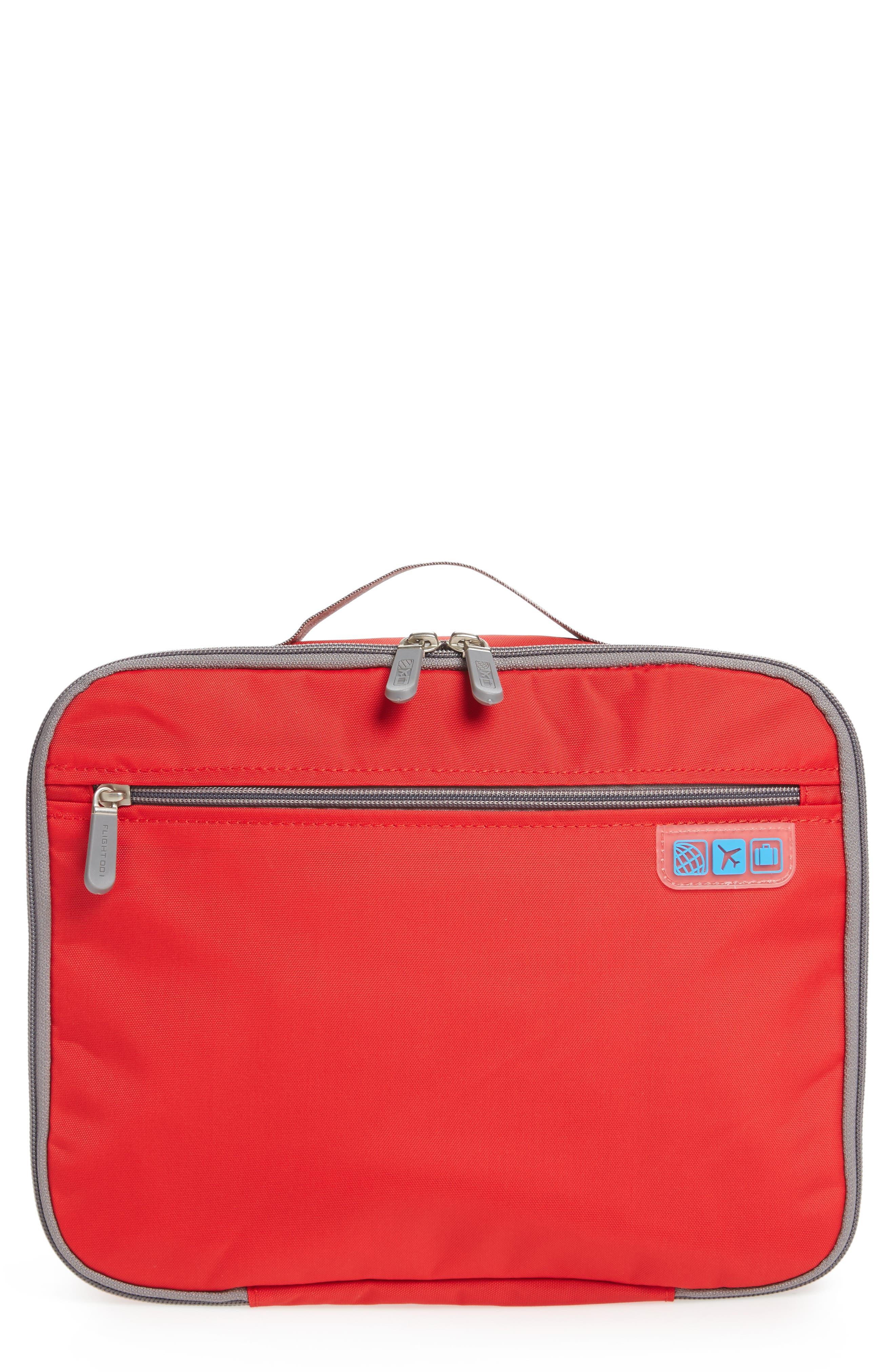 Seat Pak Pro Plane Seat Organizer,                             Main thumbnail 1, color,                             Red