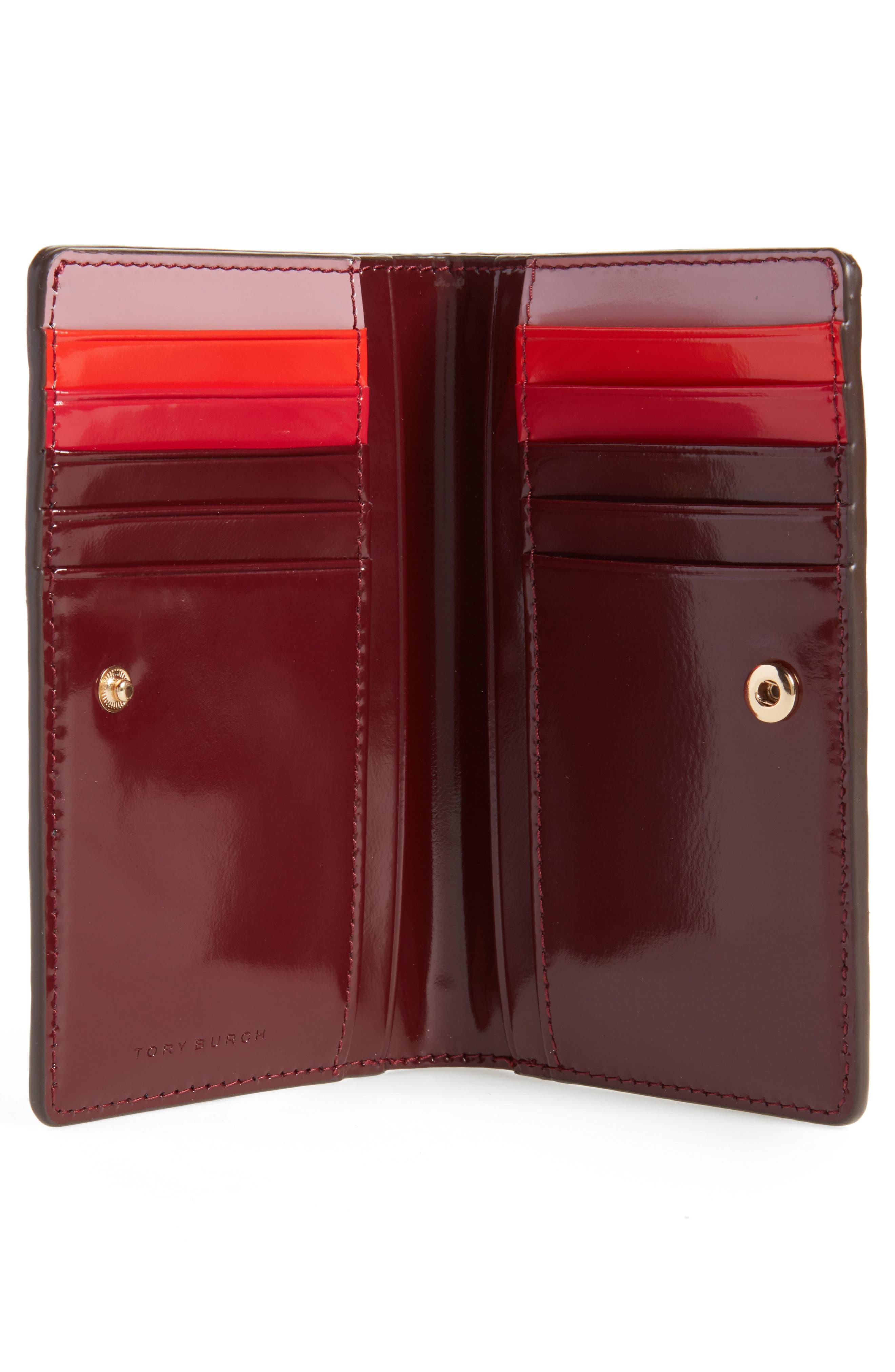 Alternate Image 2  - Tory Burch Medium McGraw Dachshund Slim Leather Wallet