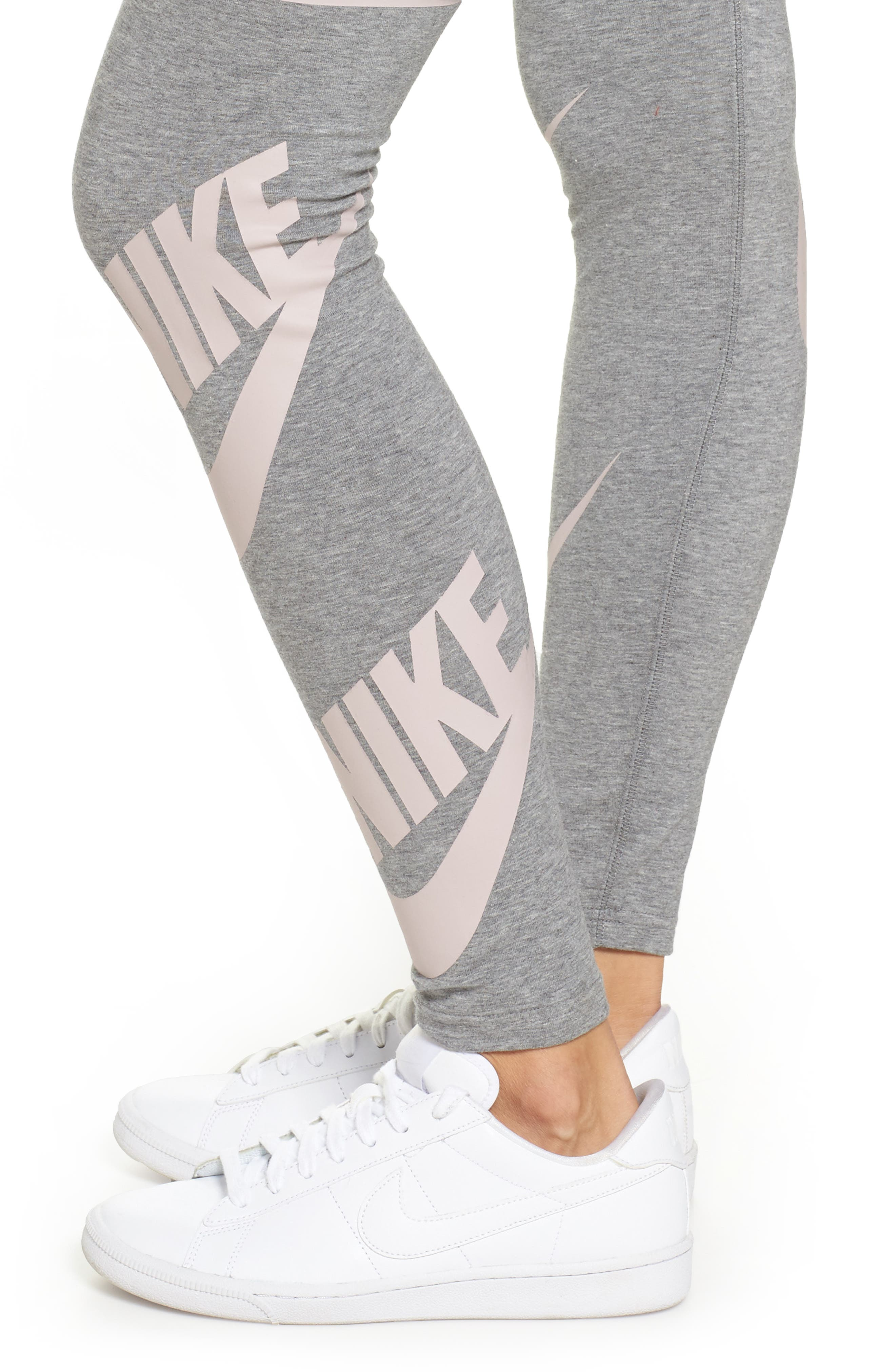 Alternate Image 4  - Nike Sportswear Graphic Leggings