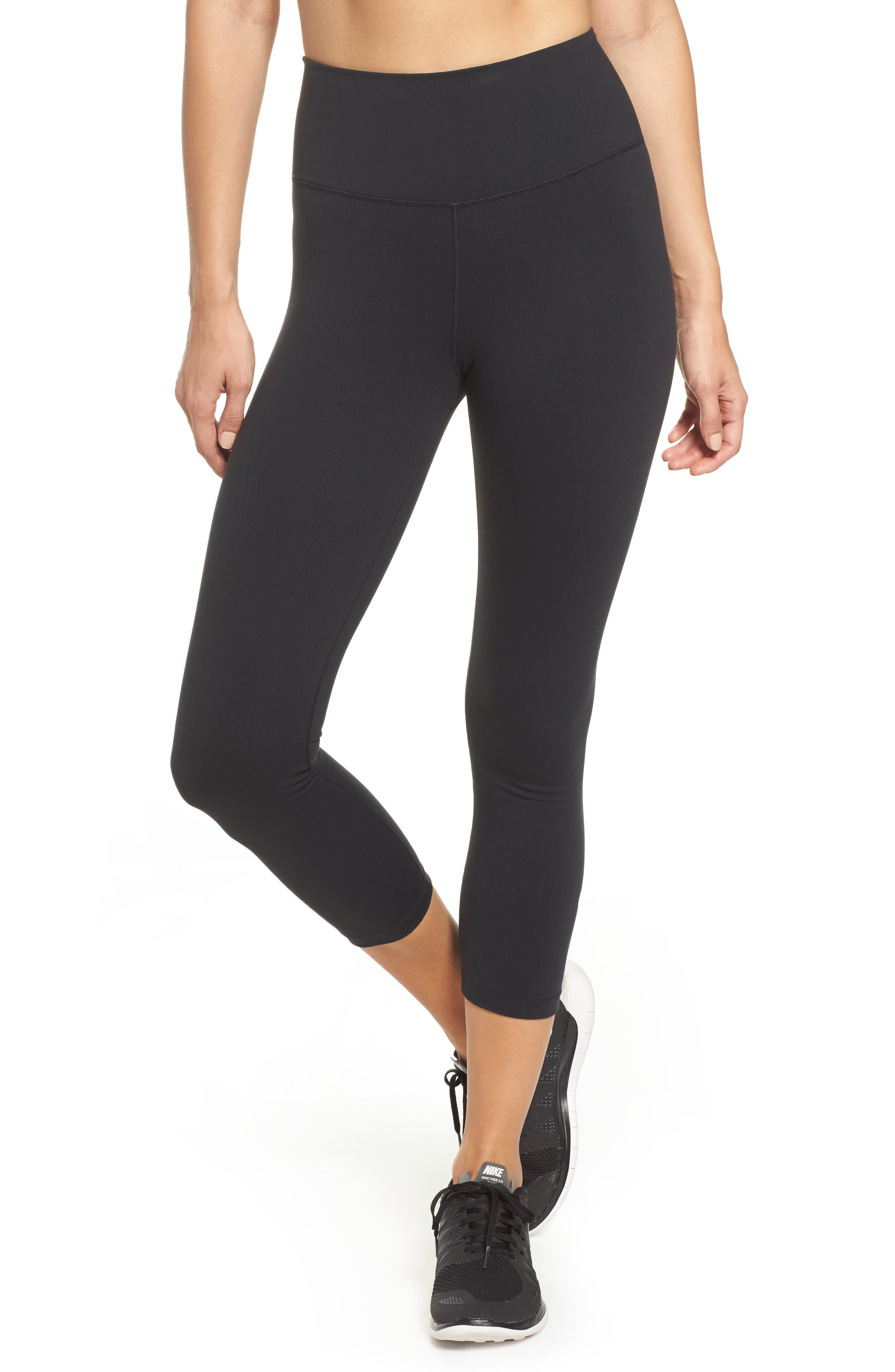 Alternate Image 1 Selected - Nike Sculpt Lux High Waist Training Capris