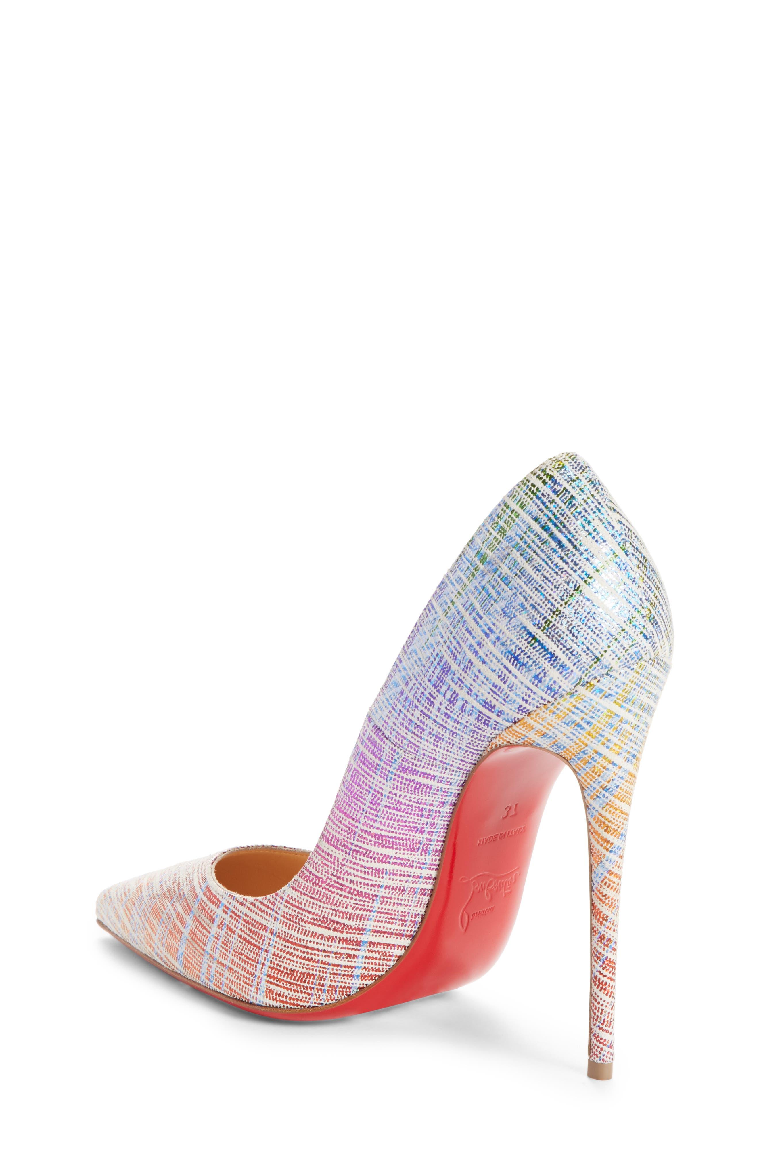 So Kate Pointy Toe Pump,                             Alternate thumbnail 2, color,                             Rainbow