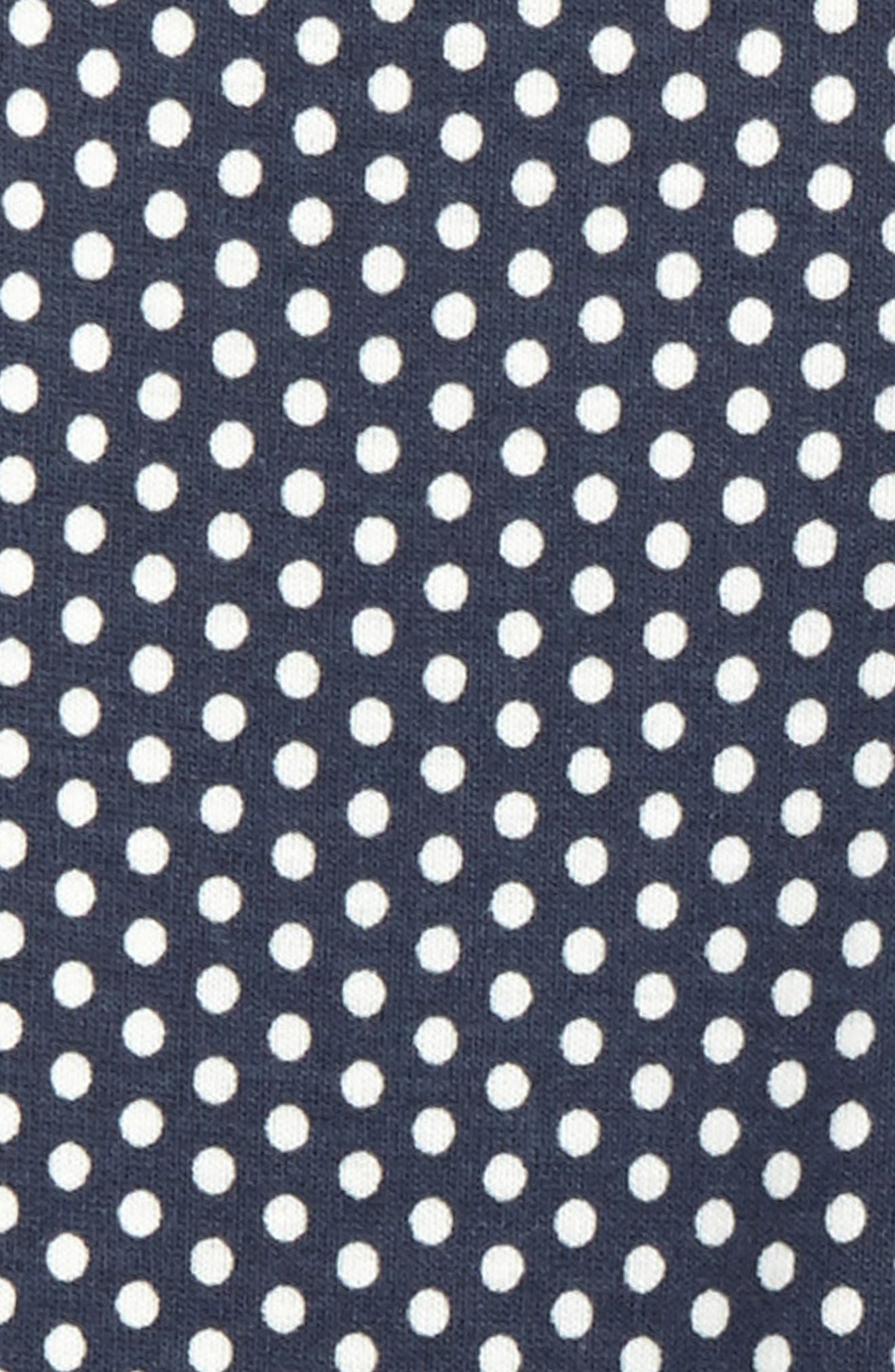 Polka Dot Leggings,                             Alternate thumbnail 2, color,                             Indigo